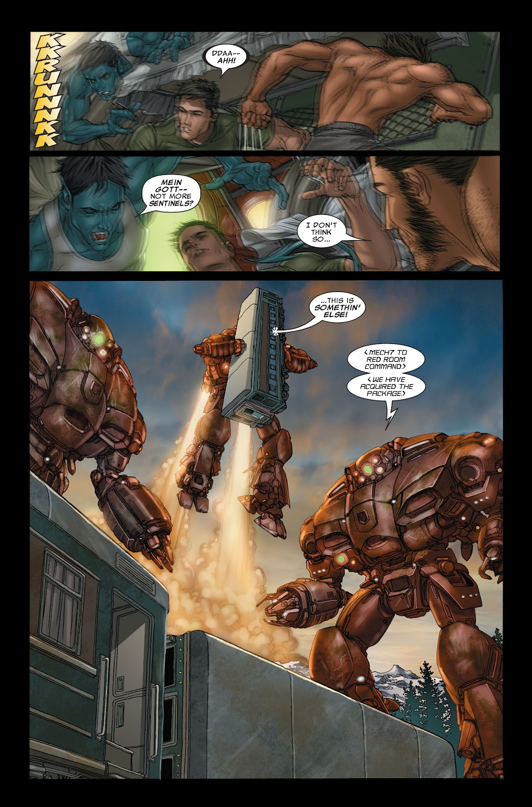 Uncanny X-Men (1963) issue 497 - Page 4