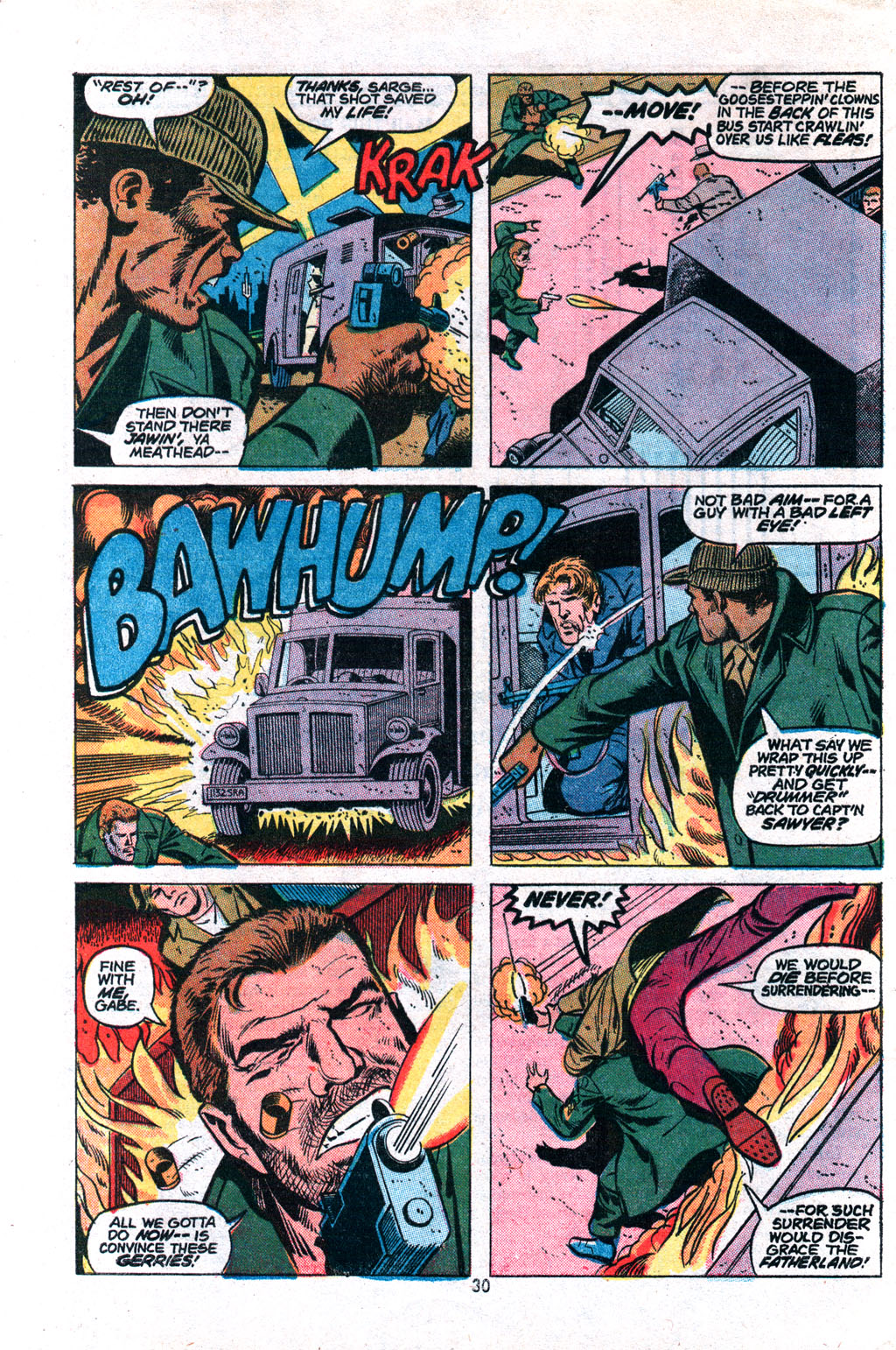 Read online Sgt. Fury comic -  Issue #117 - 32