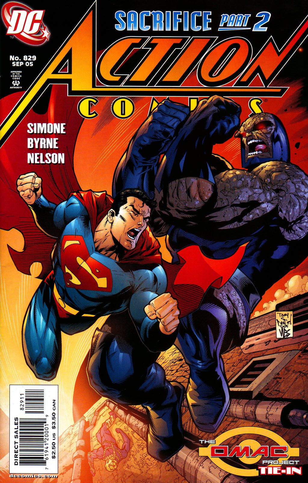Read online Action Comics (1938) comic -  Issue #829 - 1