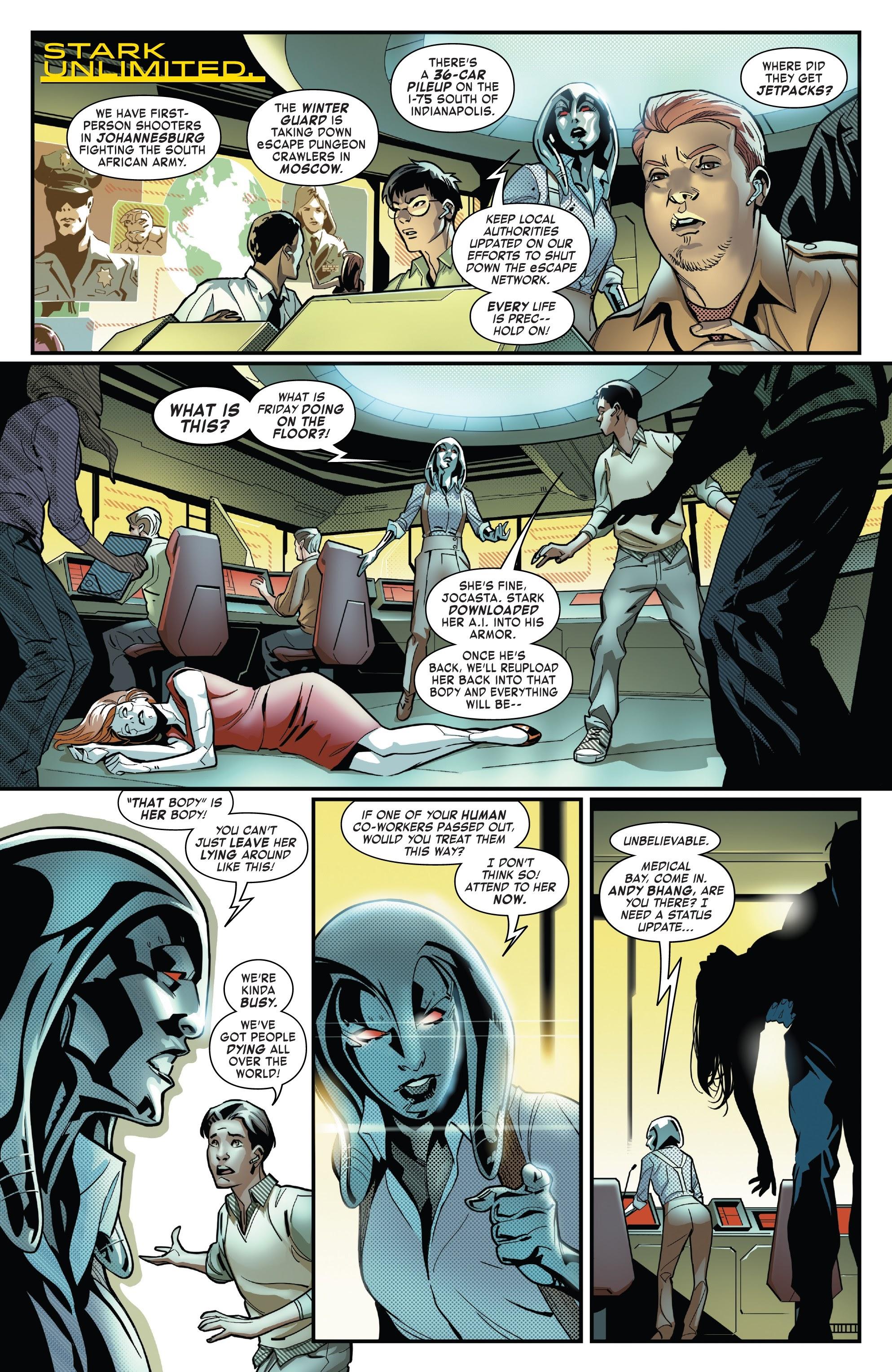 Read online Tony Stark: Iron Man comic -  Issue #10 - 4