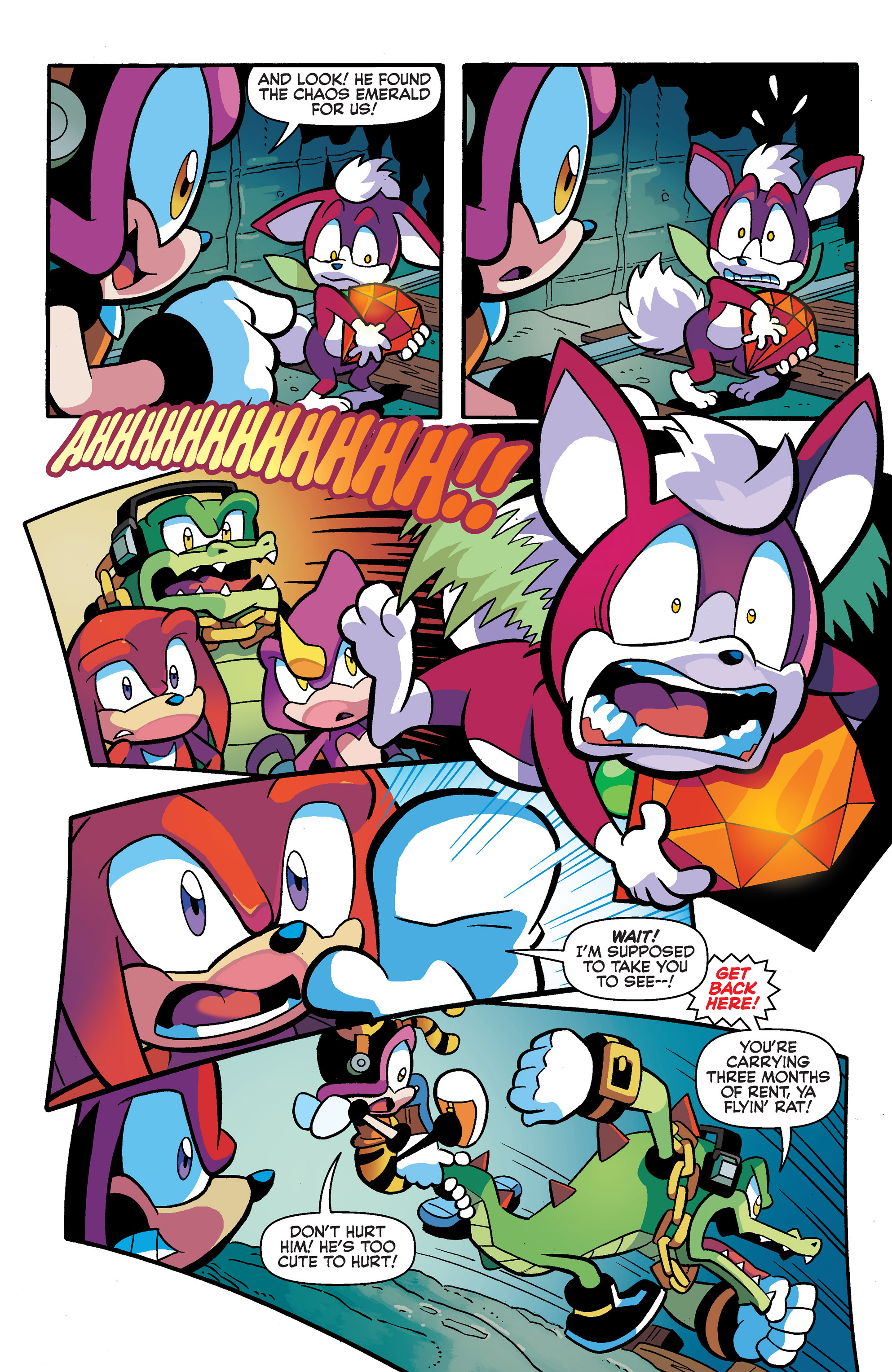 Read online Sonic Universe comic -  Issue #65 - 4