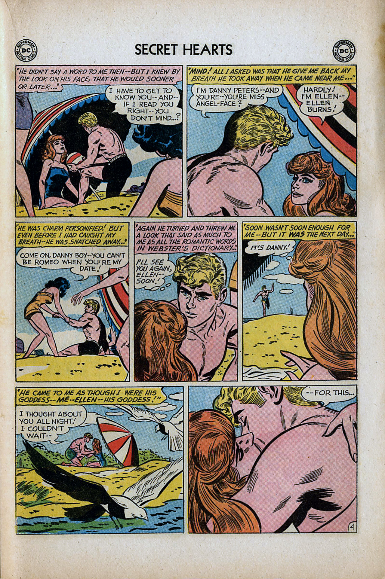 Read online Secret Hearts comic -  Issue #80 - 21