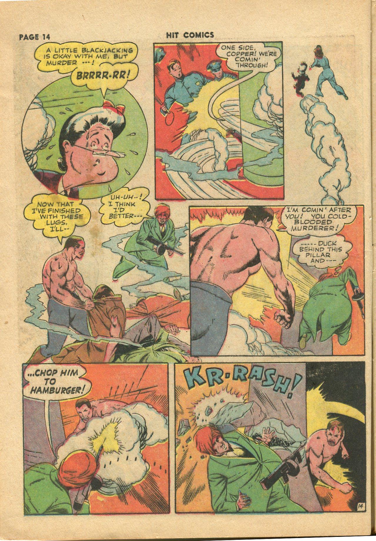Read online Hit Comics comic -  Issue #28 - 17
