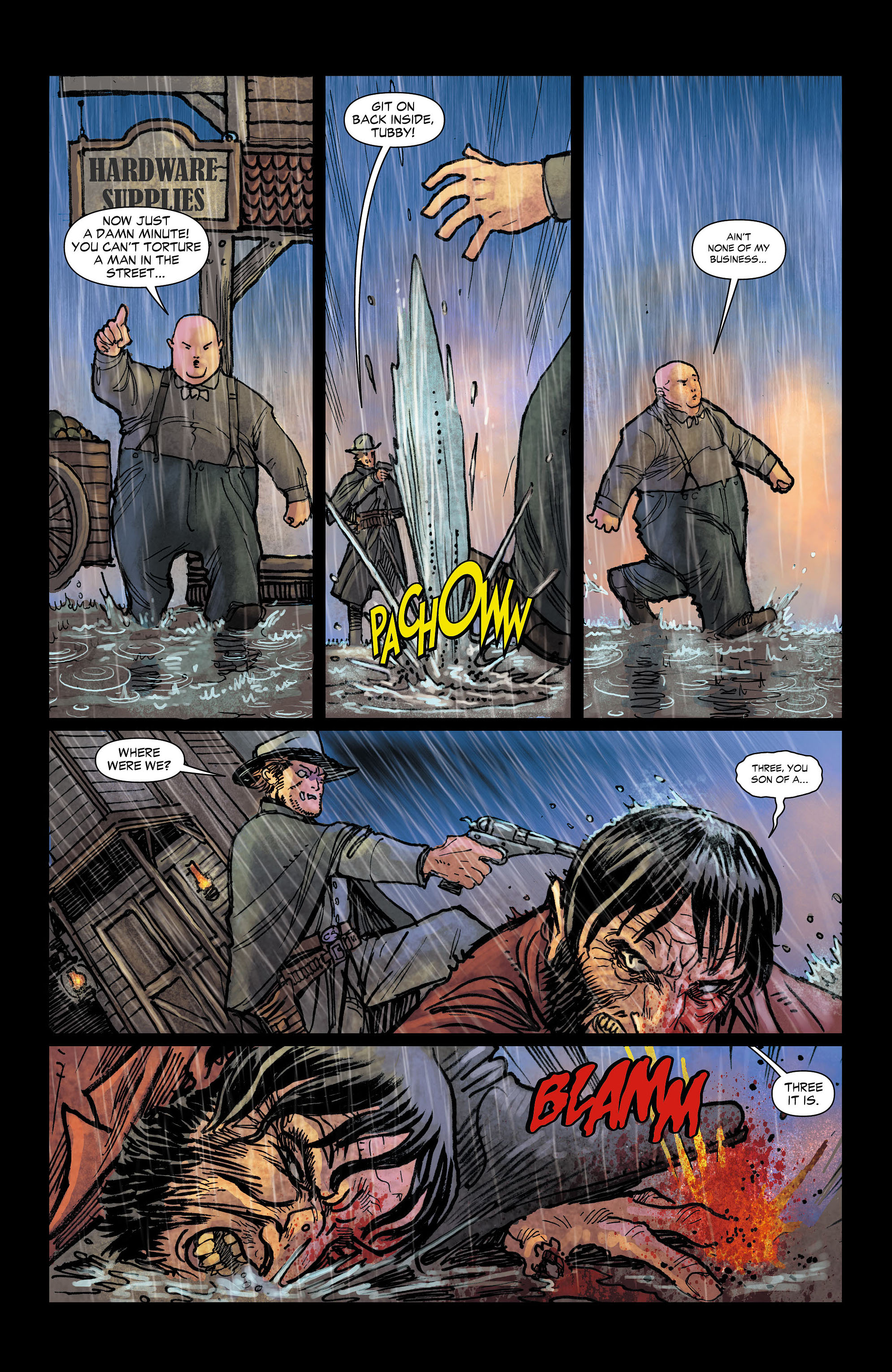 Read online All-Star Western (2011) comic -  Issue #4 - 7