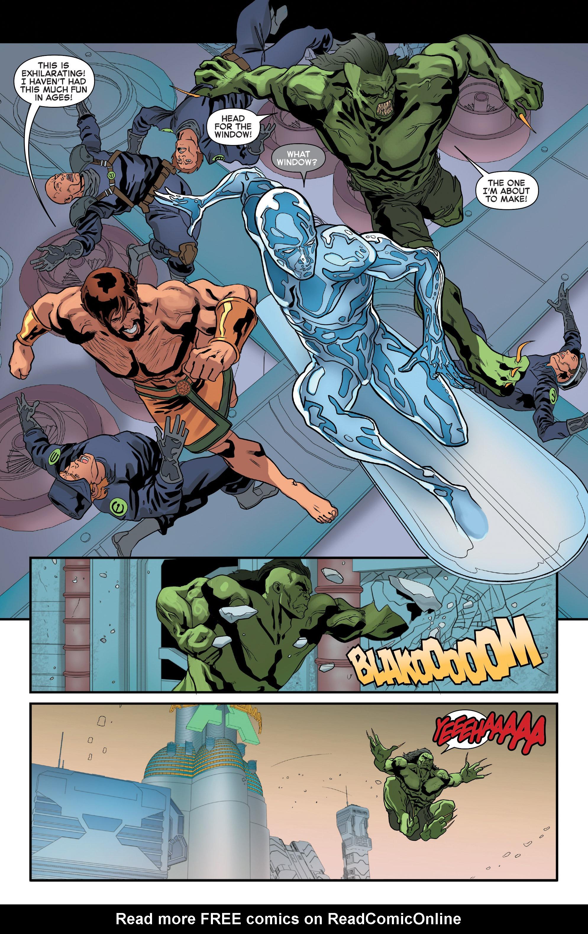 Read online Secret Wars 2099 comic -  Issue #4 - 19