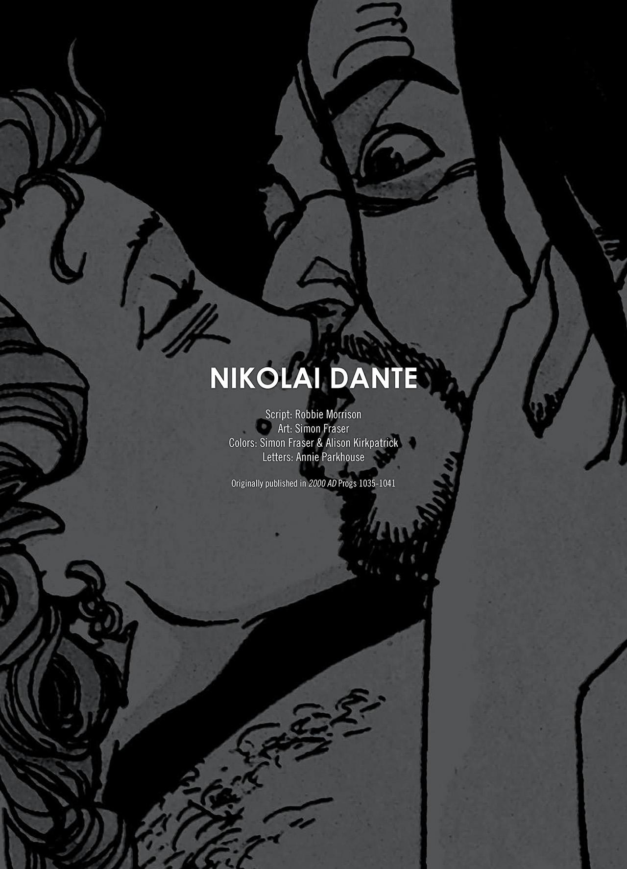 Read online Nikolai Dante comic -  Issue # TPB 1 - 5