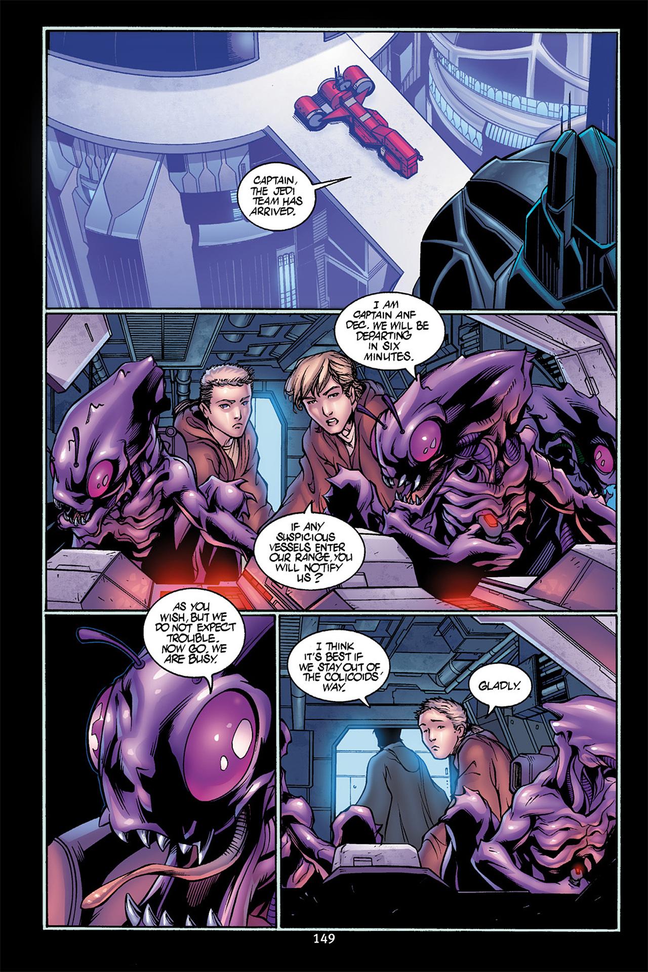 Read online Star Wars Omnibus comic -  Issue # Vol. 10 - 148