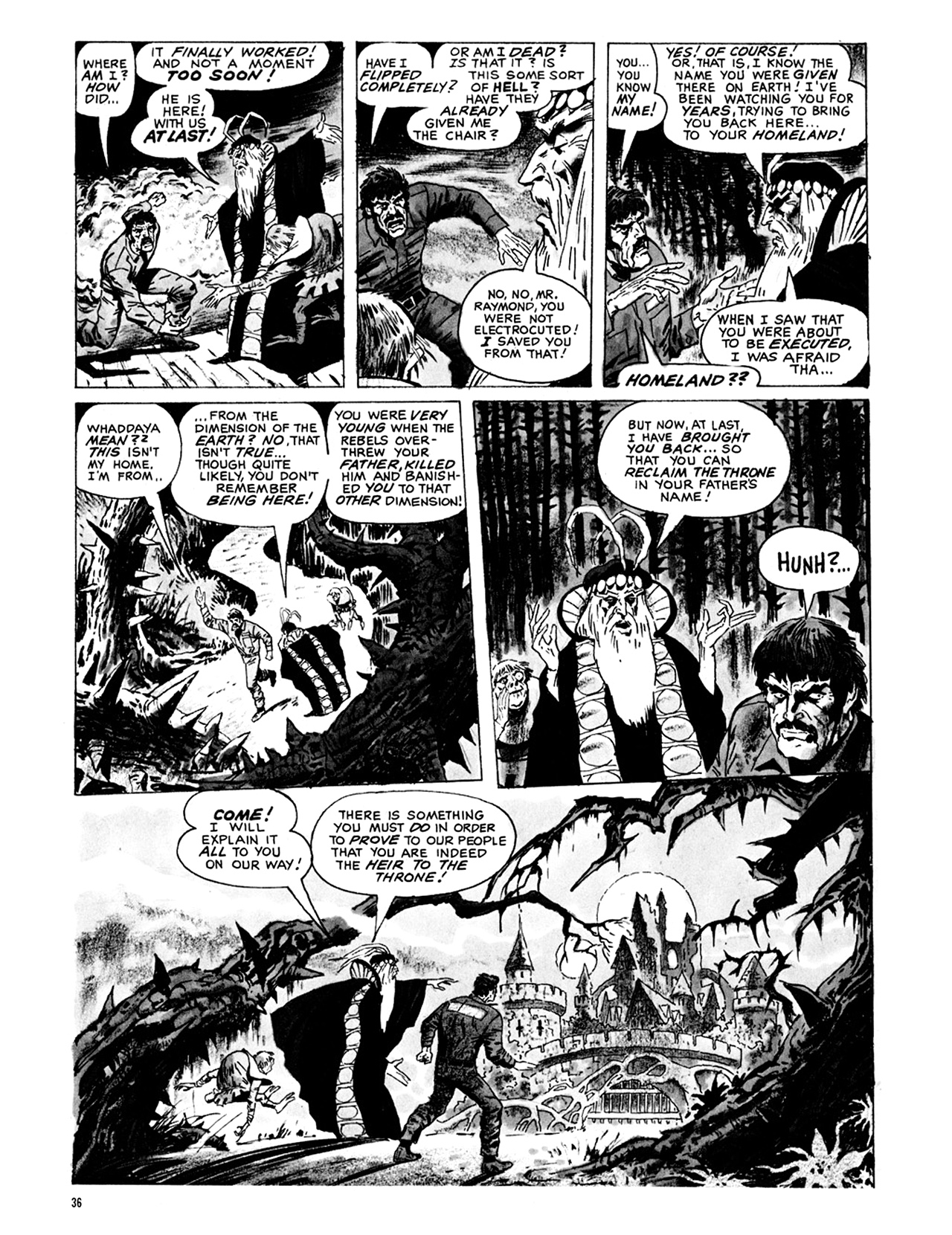 Read online Eerie Archives comic -  Issue # TPB 9 - 37