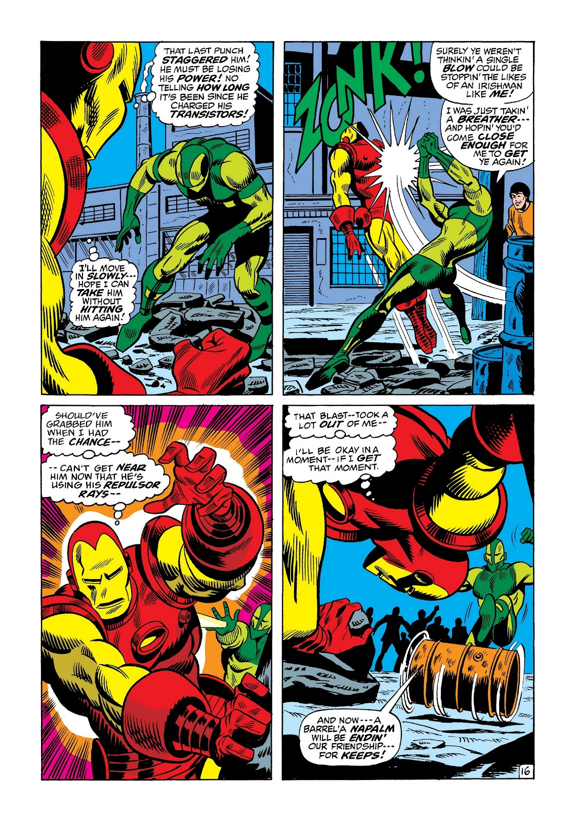 Read online Marvel Masterworks: The Invincible Iron Man comic -  Issue # TPB 8 (Part 2) - 60