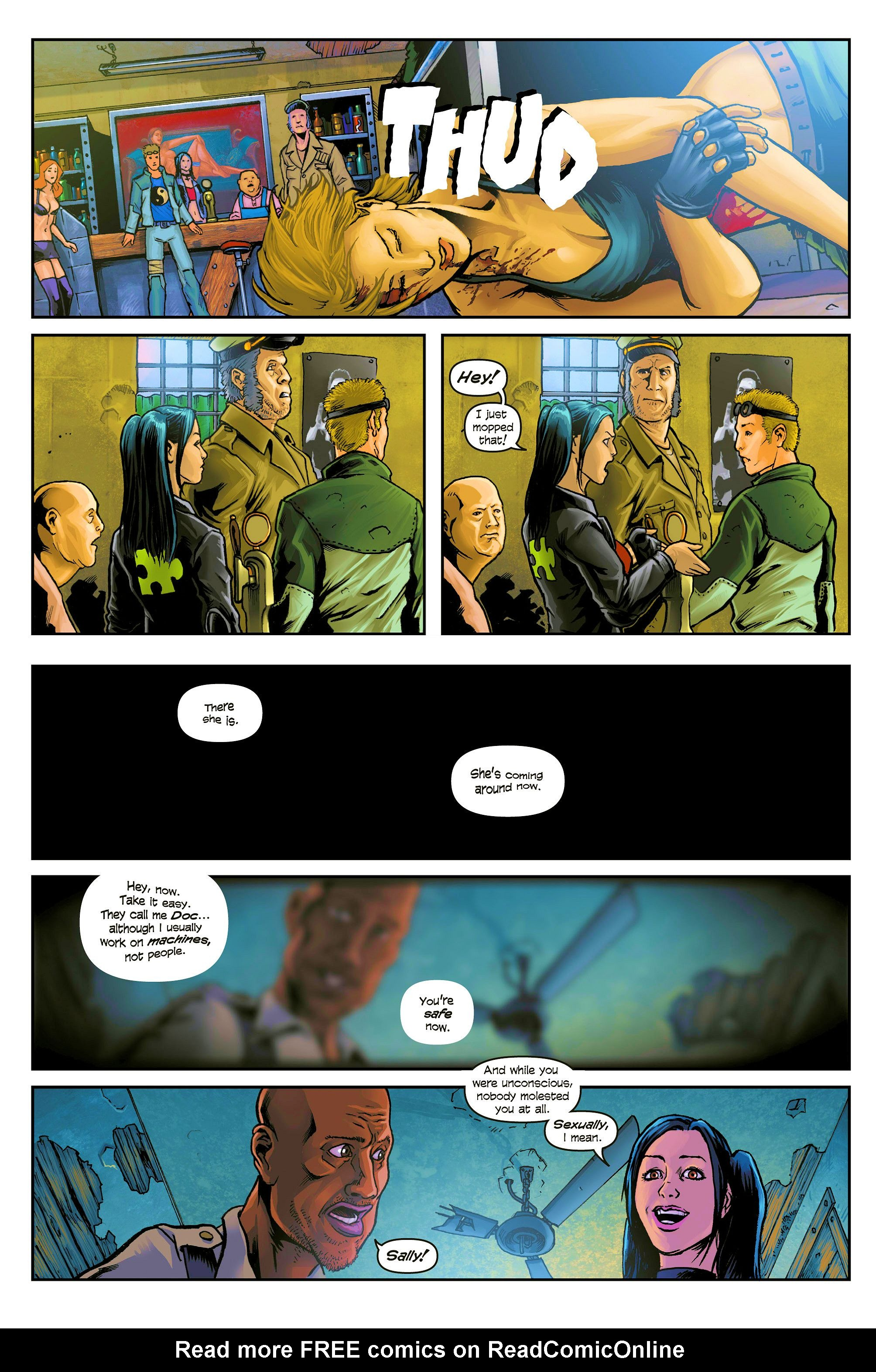 Sally of the Wasteland 1 Page 8