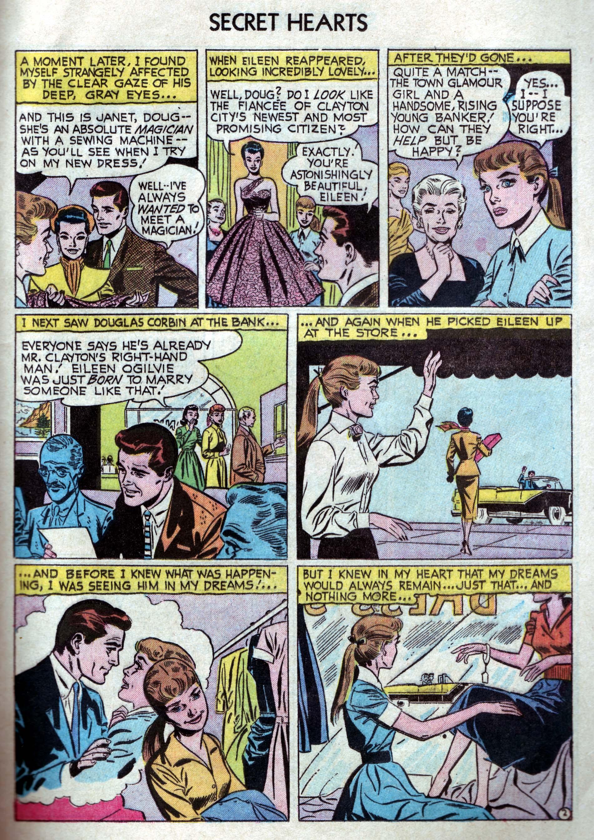 Read online Secret Hearts comic -  Issue #33 - 11