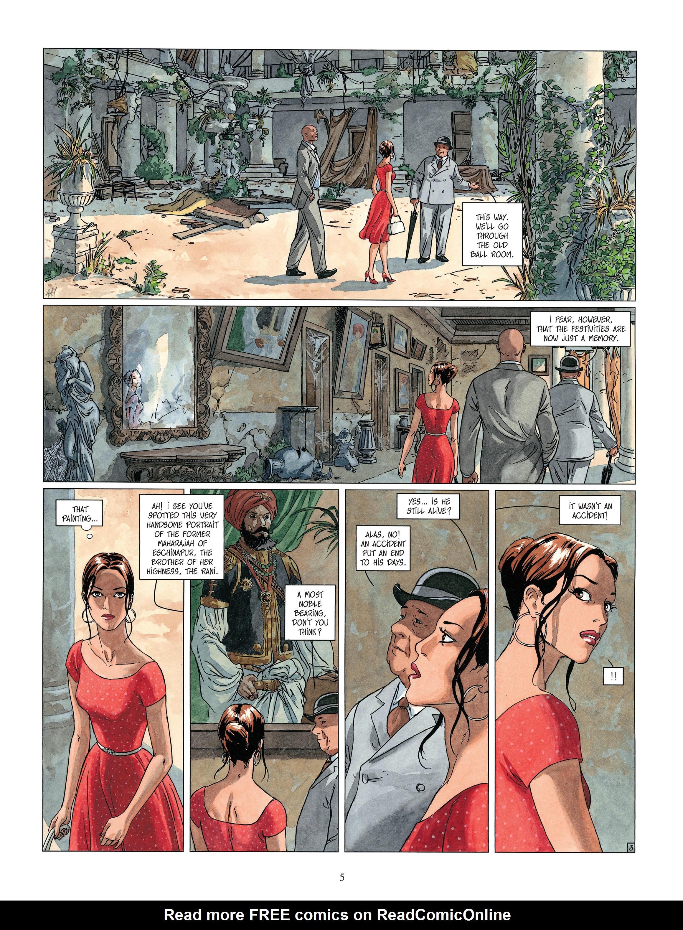 Read online Djinn comic -  Issue #13 - 6