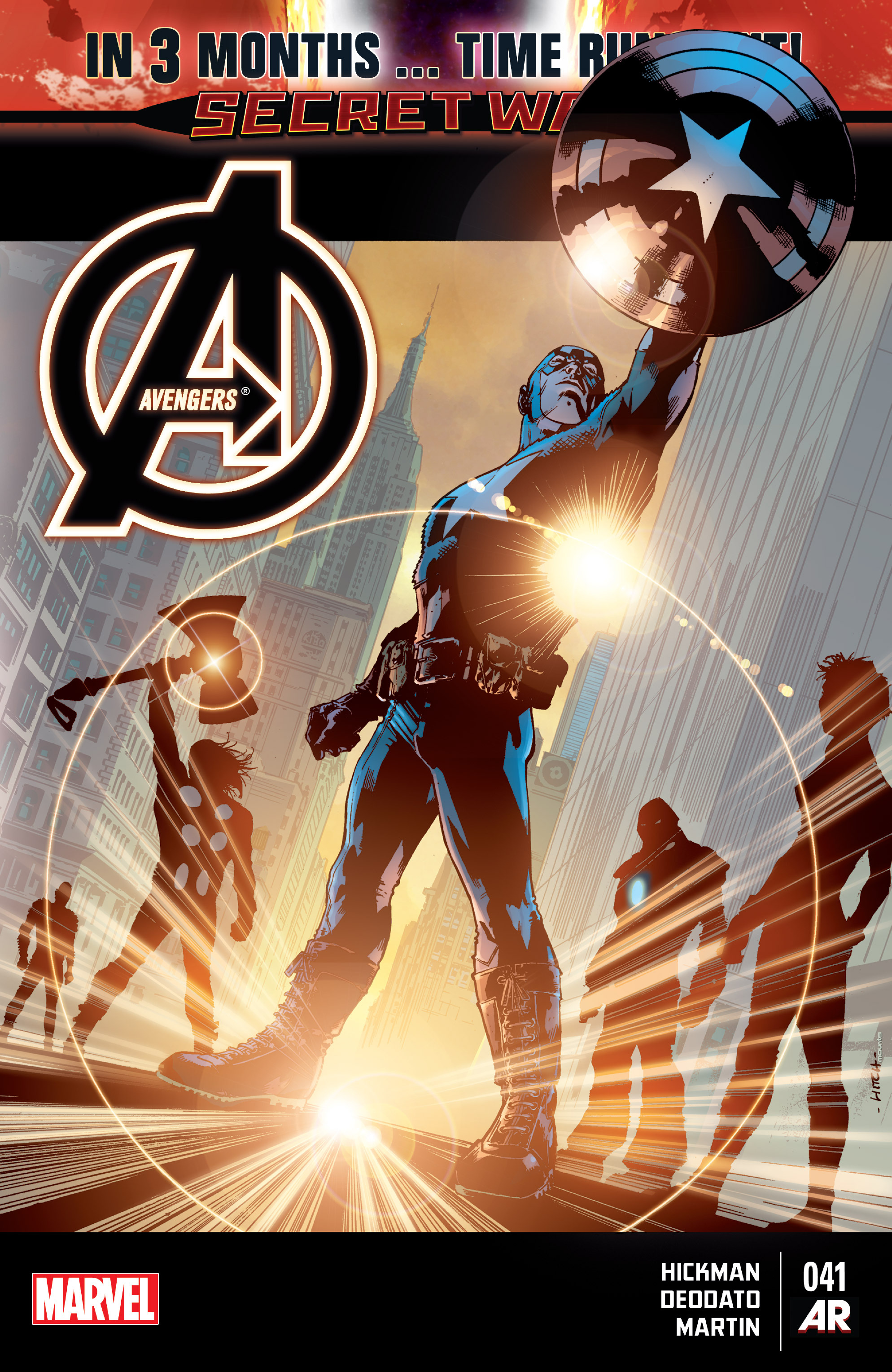 Read online Avengers (2013) comic -  Issue #41 - 1