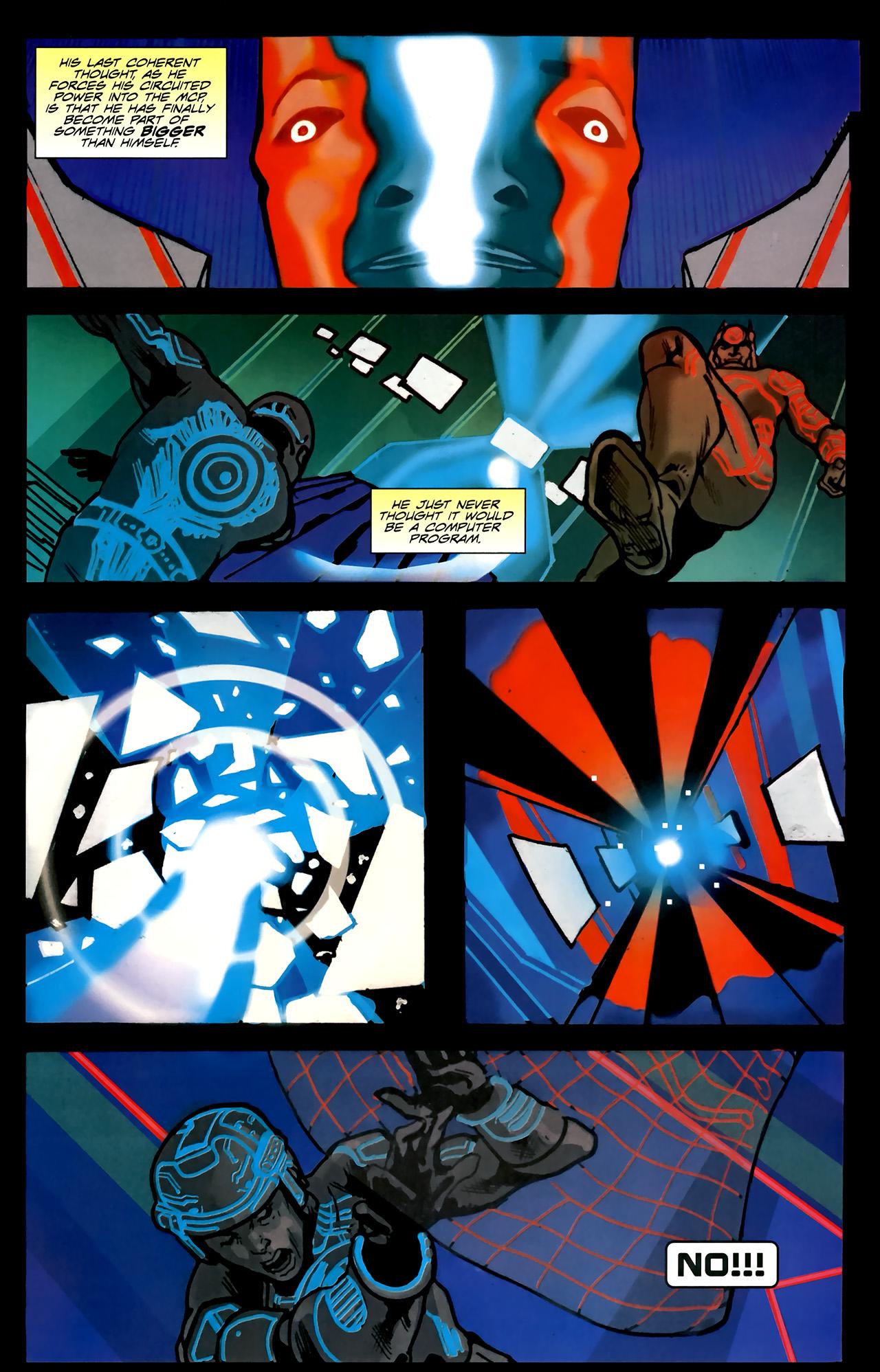 Read online TRON: Original Movie Adaptation comic -  Issue #2 - 32