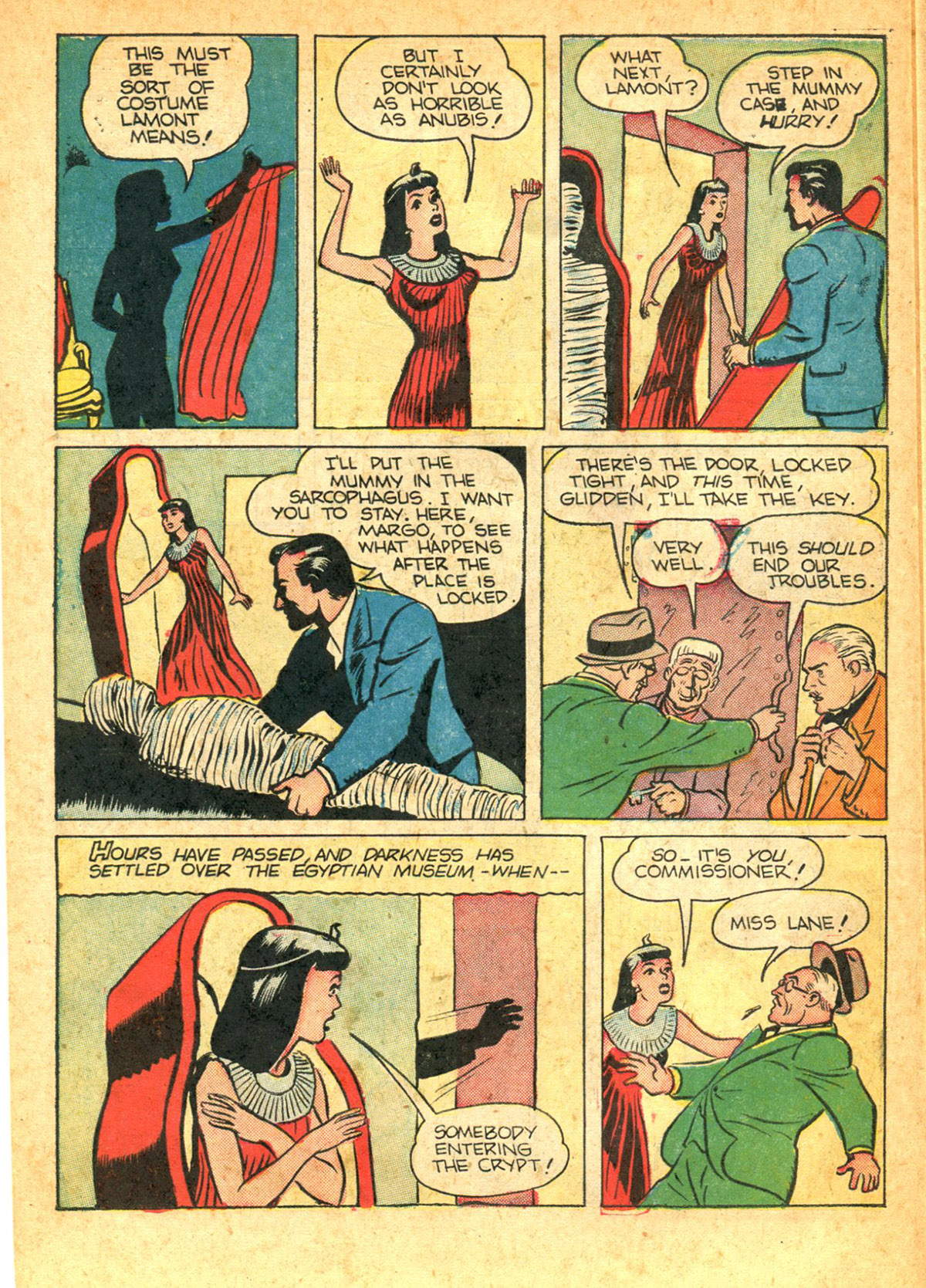Read online Shadow Comics comic -  Issue #38 - 24