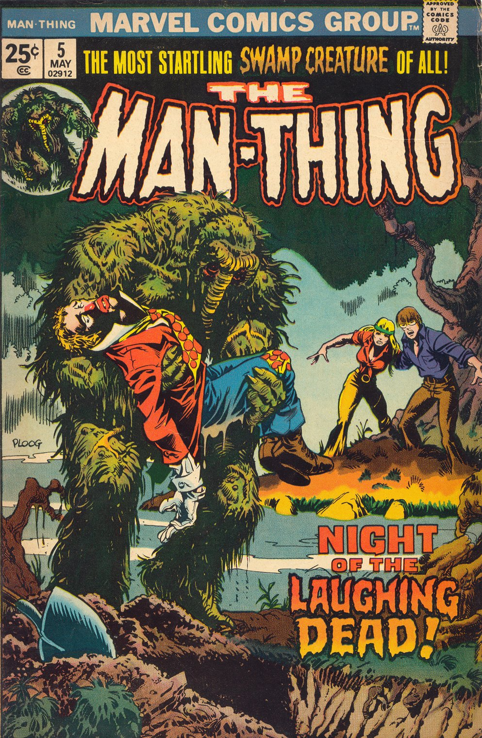 Man-Thing (1974) issue 5 - Page 1