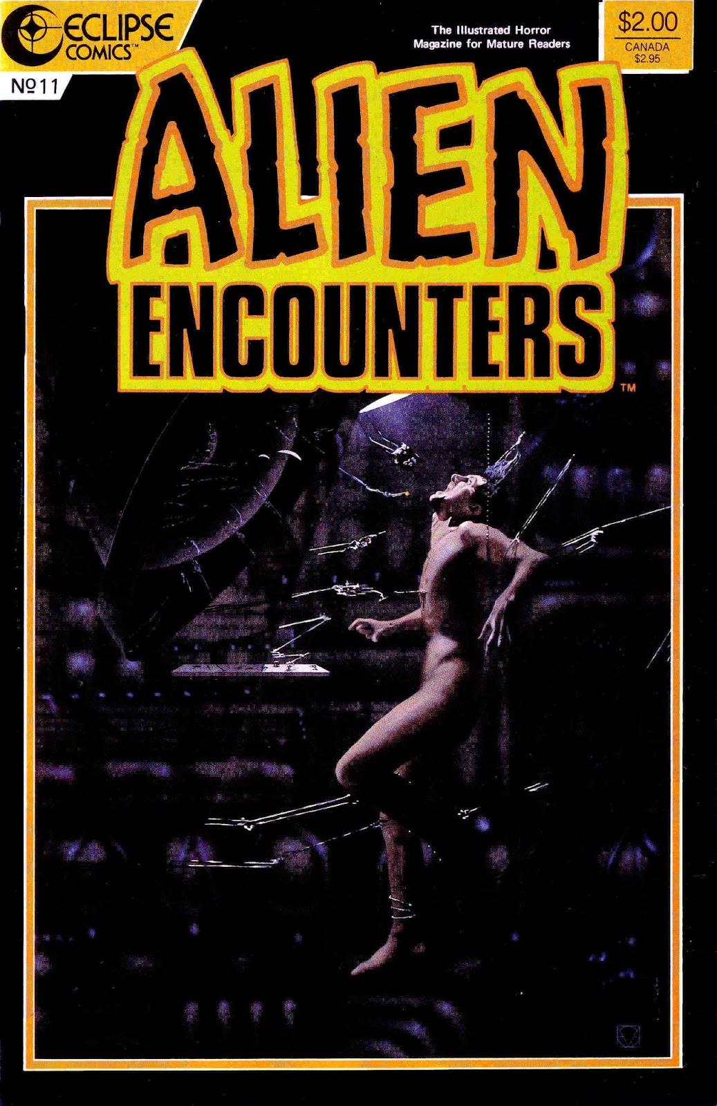 Alien Encounters 11 Page 1