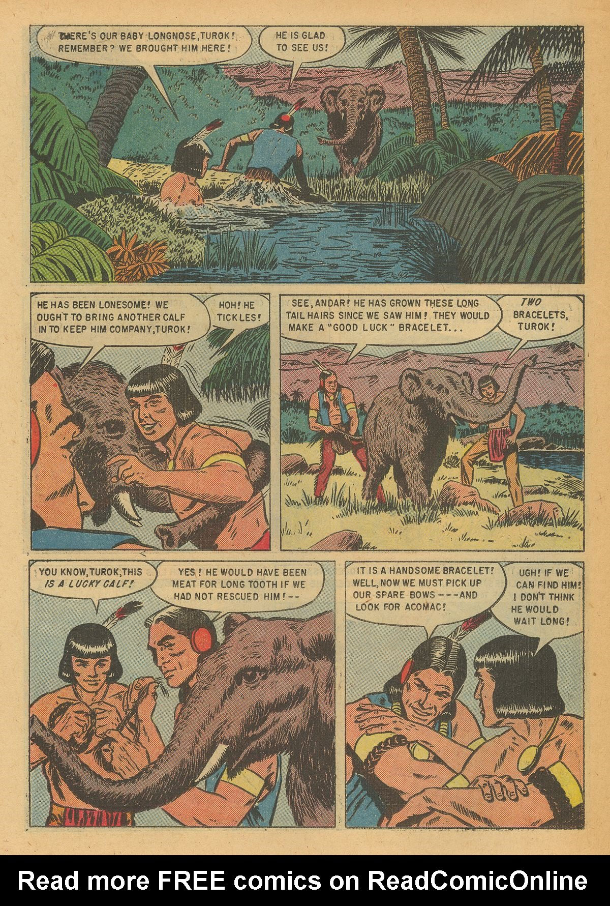 Read online Turok, Son of Stone comic -  Issue #6 - 22