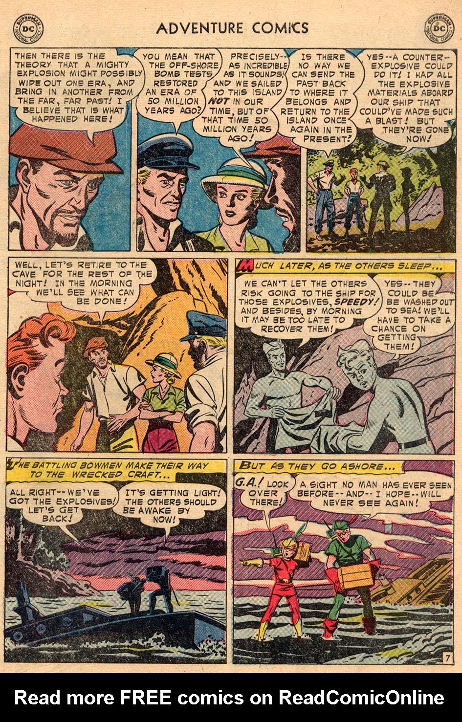 Read online Adventure Comics (1938) comic -  Issue #208 - 31