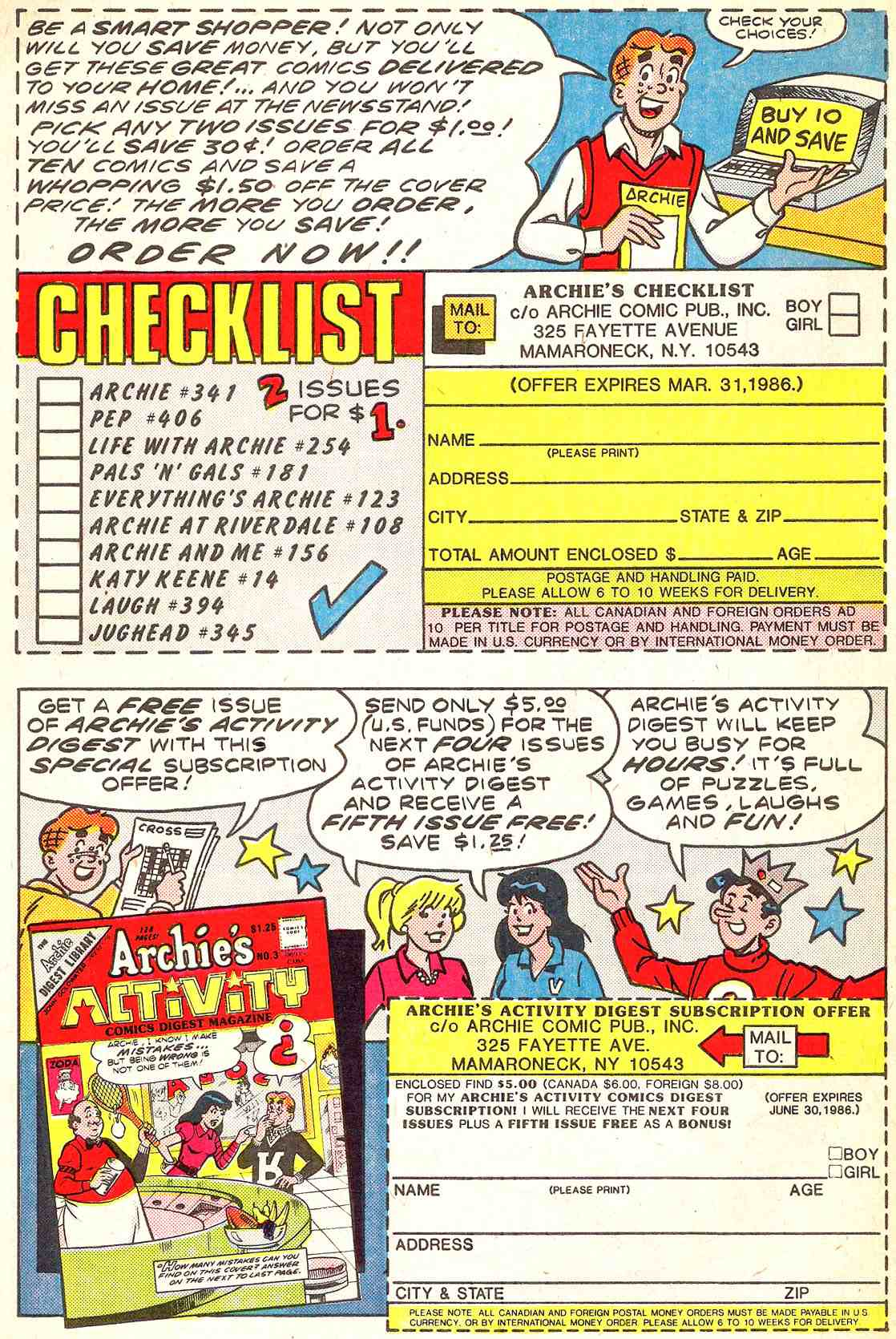 Read online Archie's Girls Betty and Veronica comic -  Issue #341 - 34