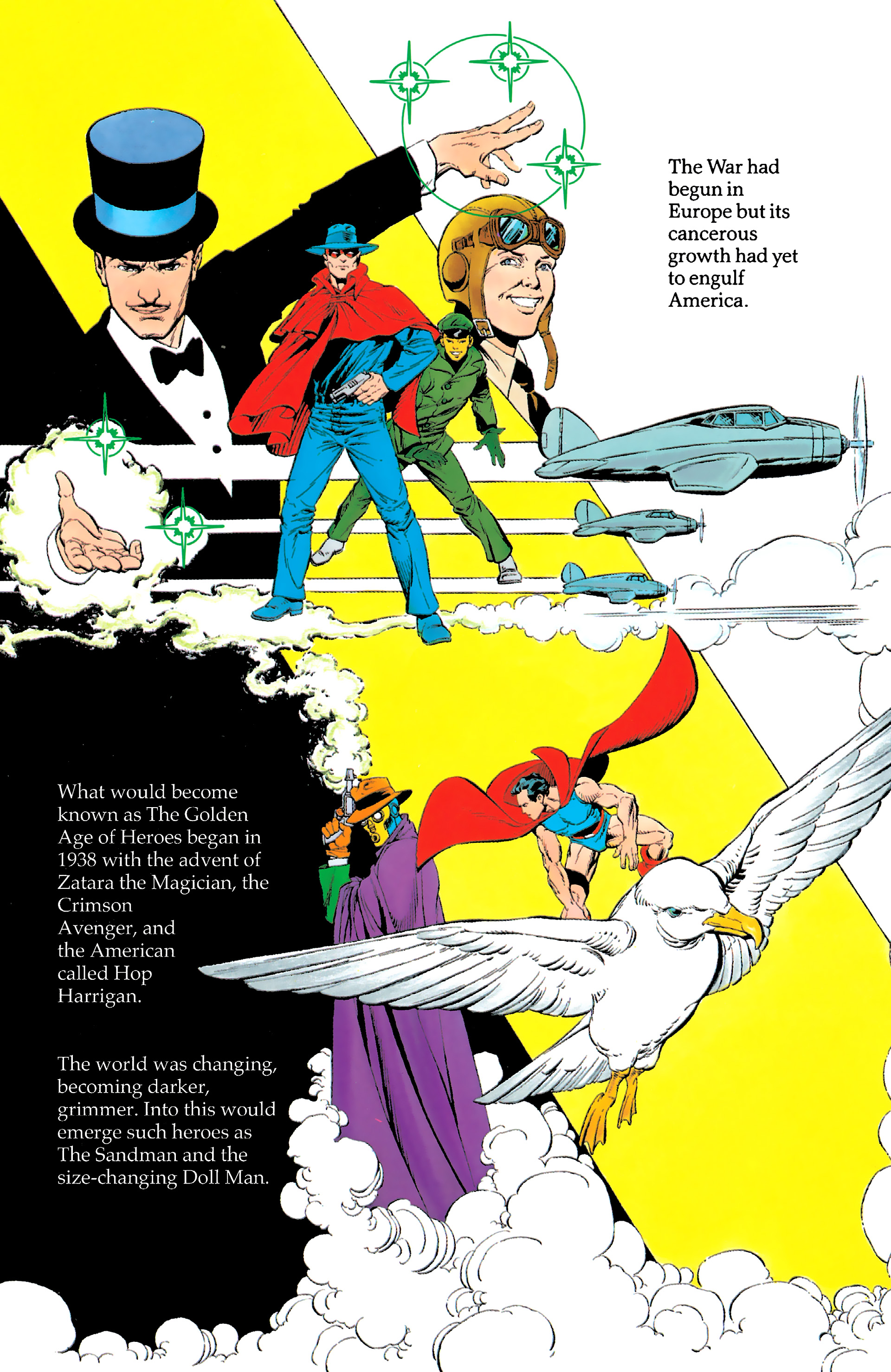 Read online History of the DC Universe comic -  Issue #1 - 34