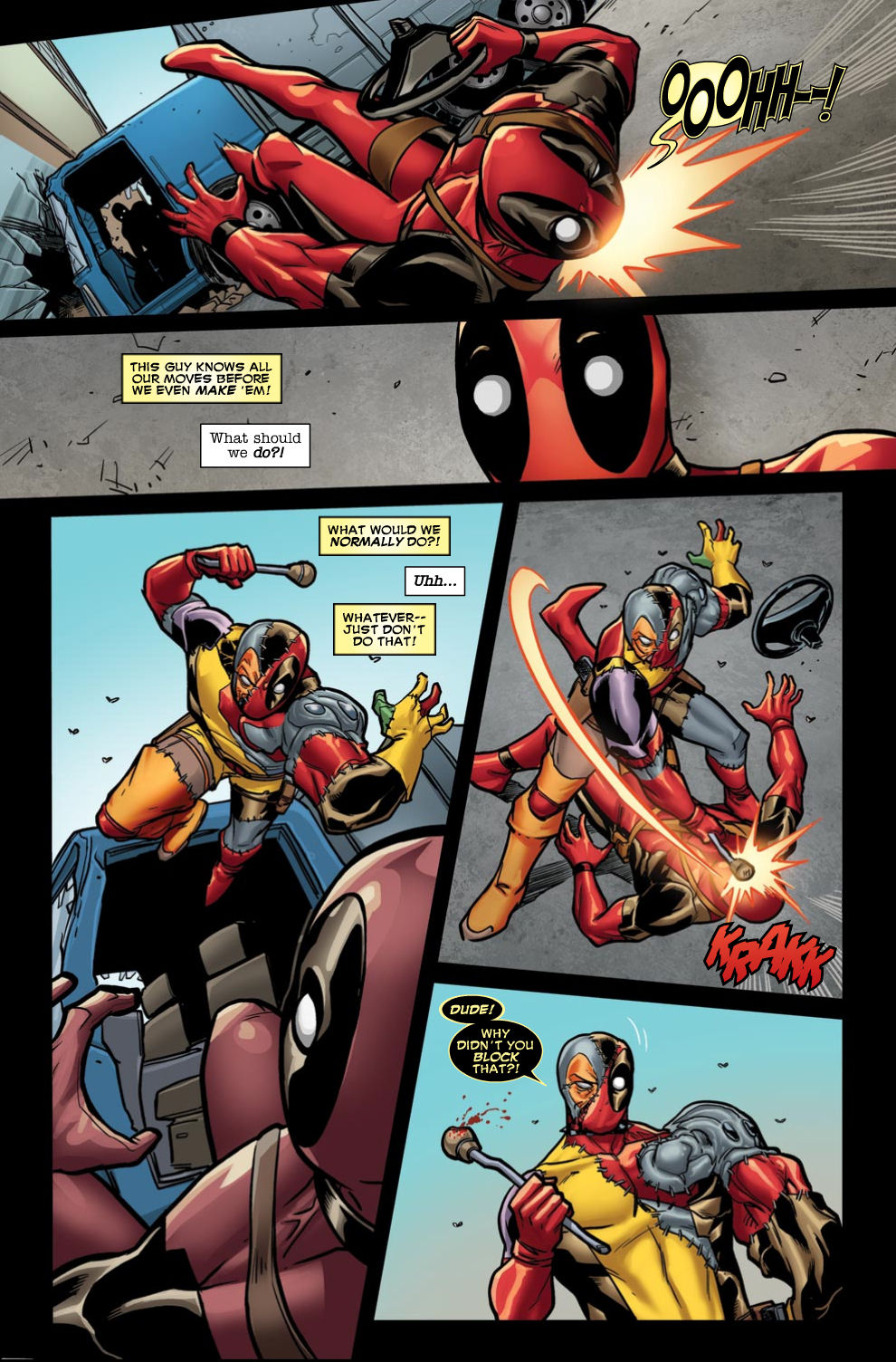 Read online Deadpool (2008) comic -  Issue #46 - 9