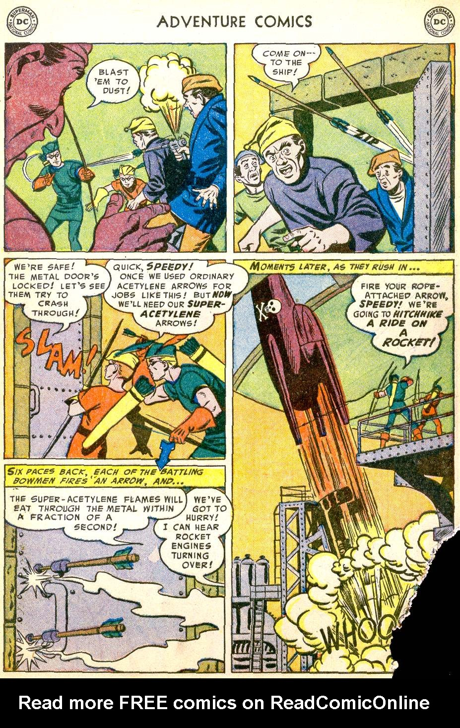 Read online Adventure Comics (1938) comic -  Issue #194 - 39