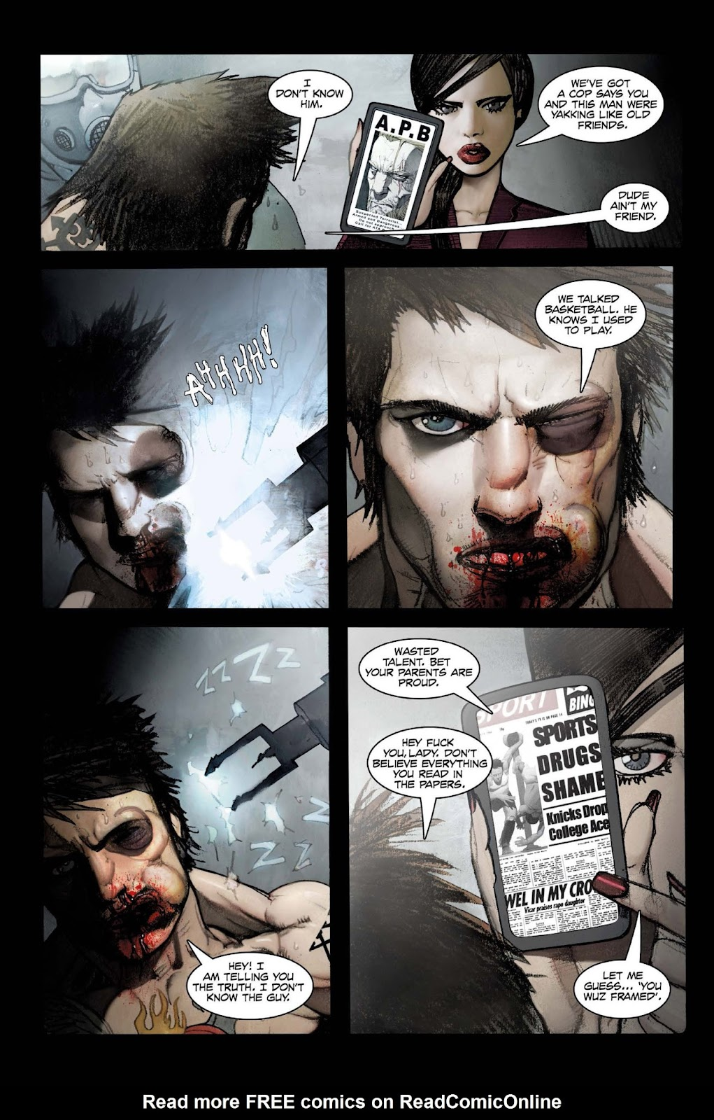 13 Coins issue TPB - Page 38