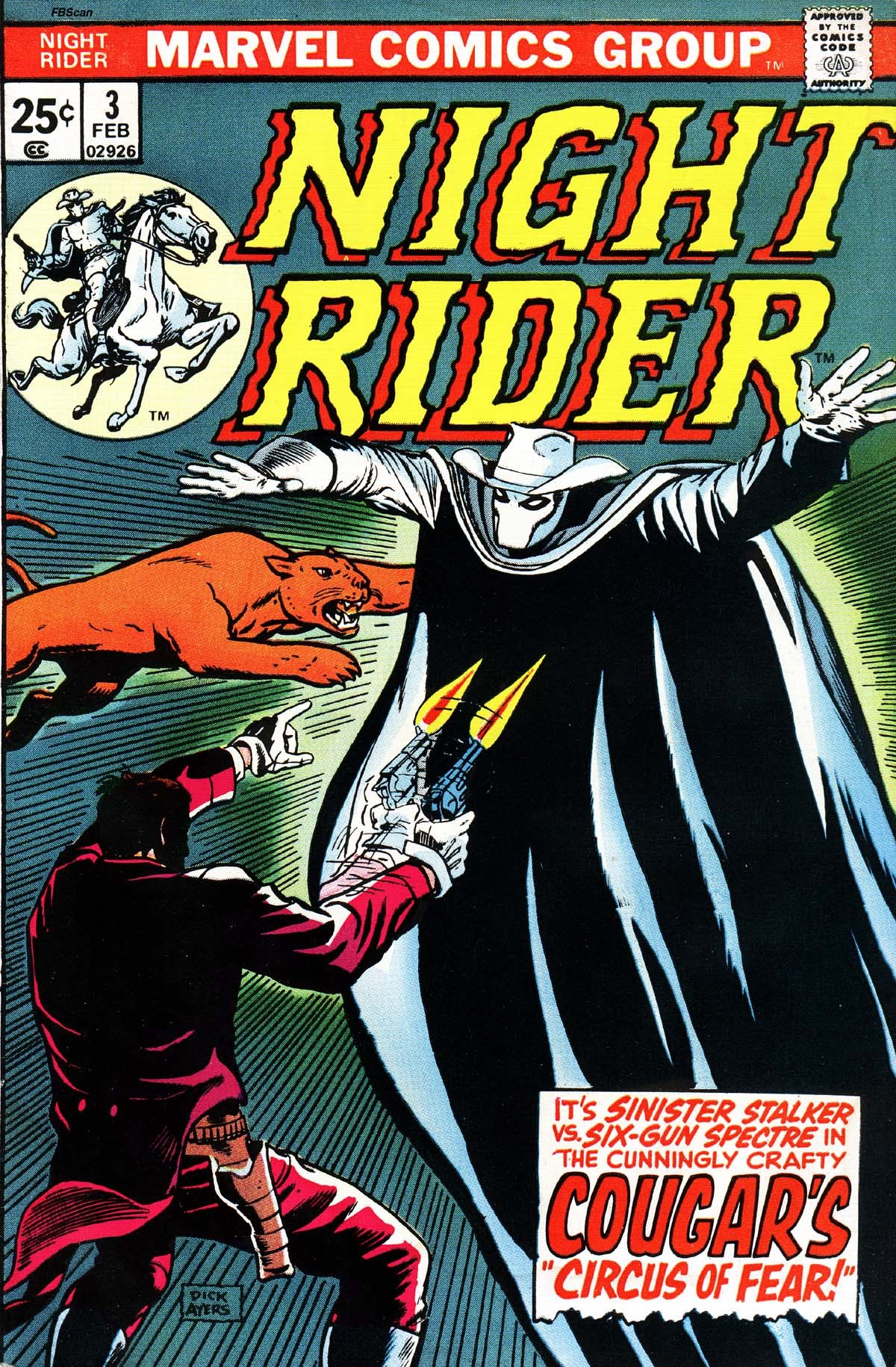 Night Rider 3 Page 1
