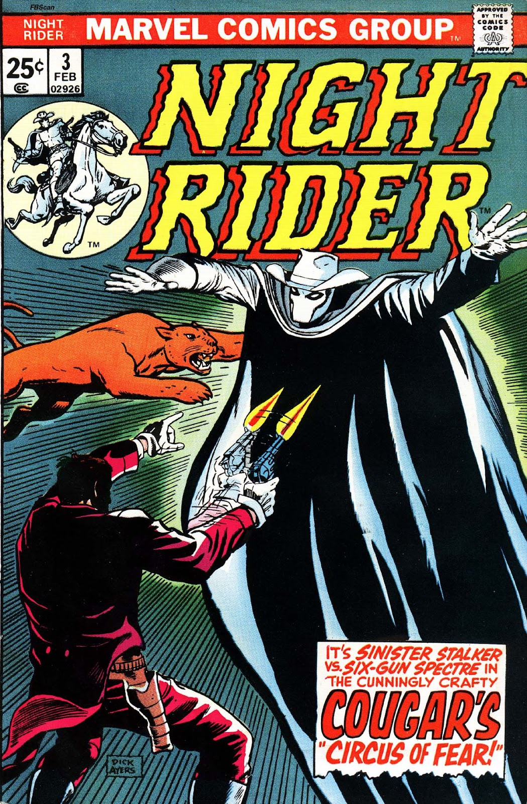 Night Rider issue 3 - Page 1