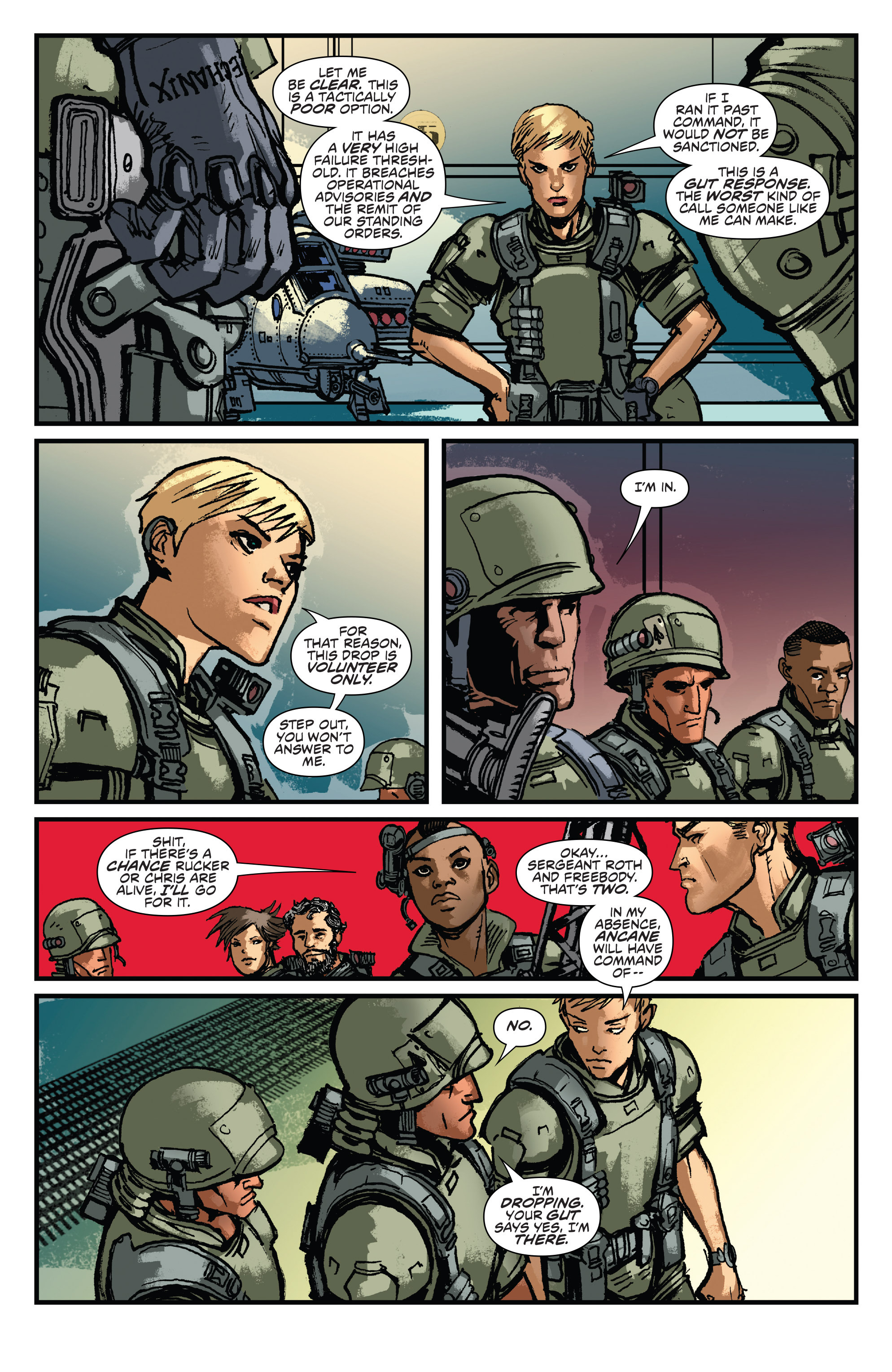 Read online Aliens: Life And Death comic -  Issue #2 - 8