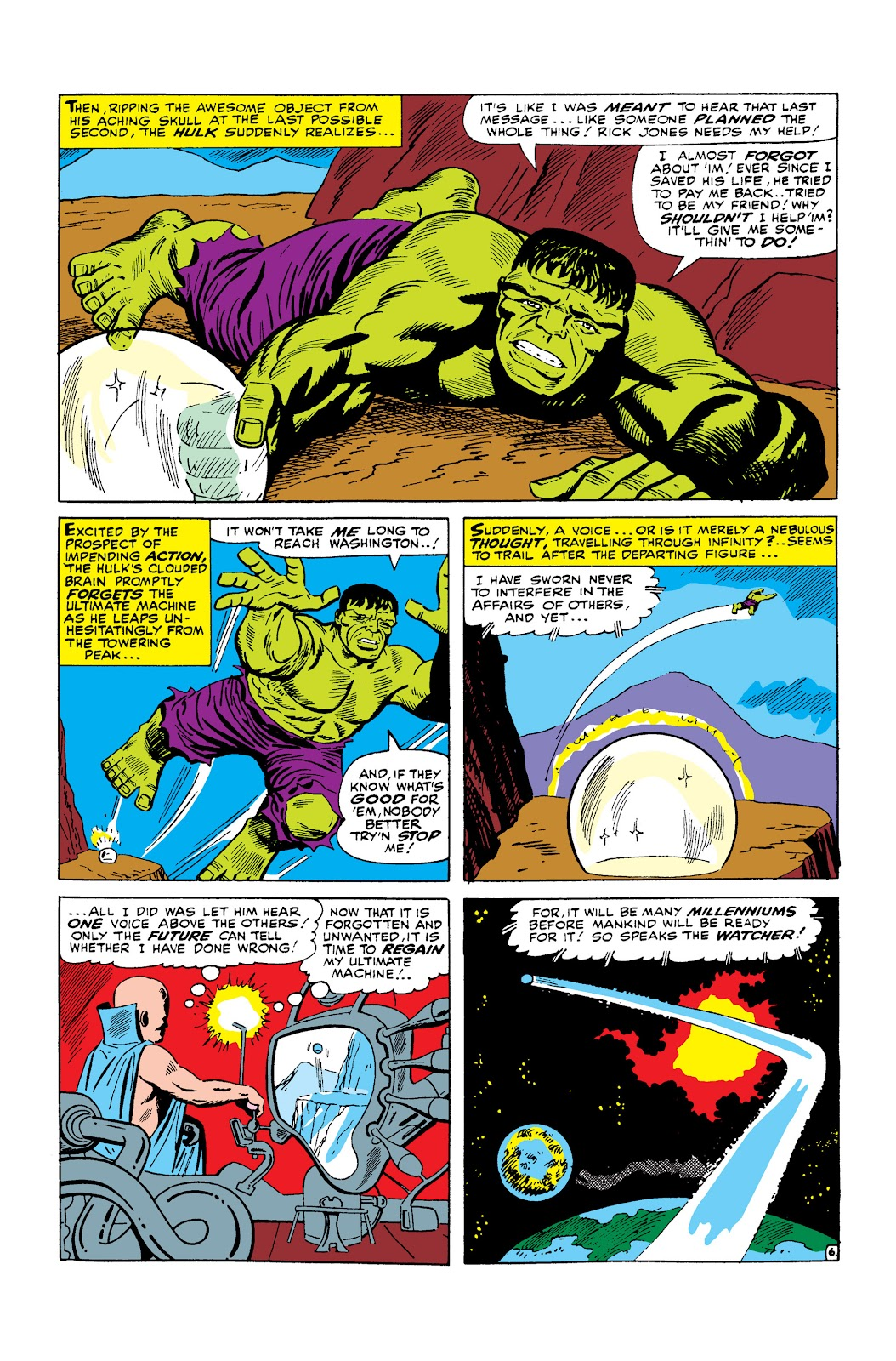 Read online Marvel Masterworks: The Incredible Hulk comic -  Issue # TPB 2 (Part 2) - 95