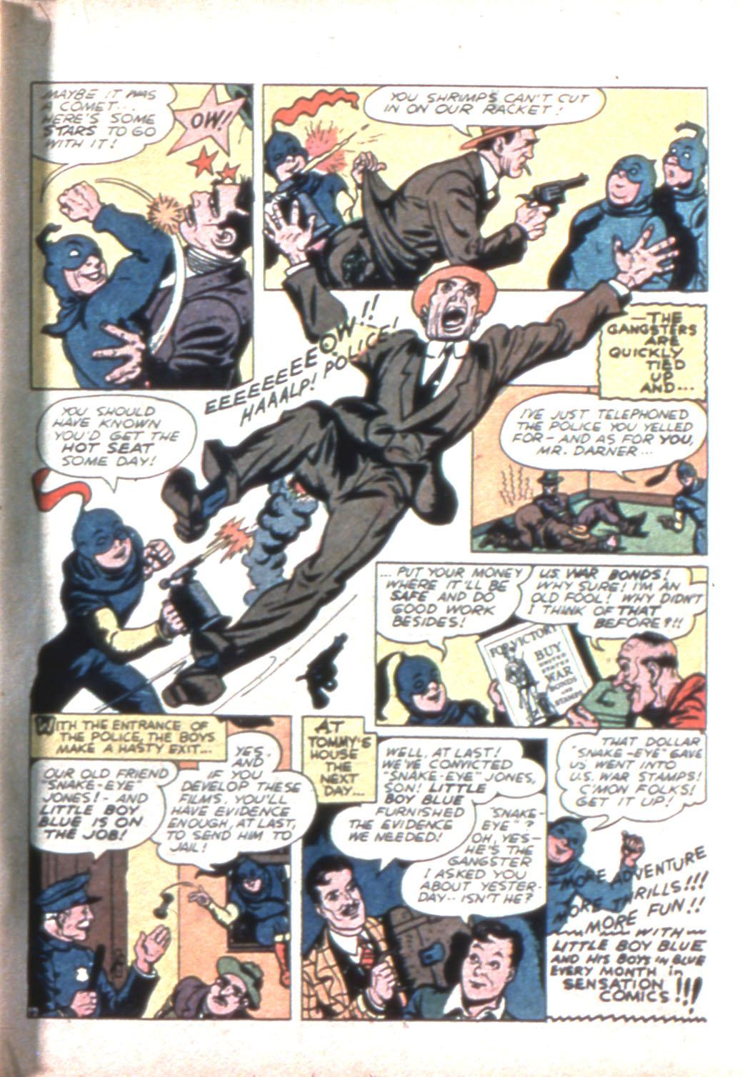 Read online Sensation (Mystery) Comics comic -  Issue #11 - 51