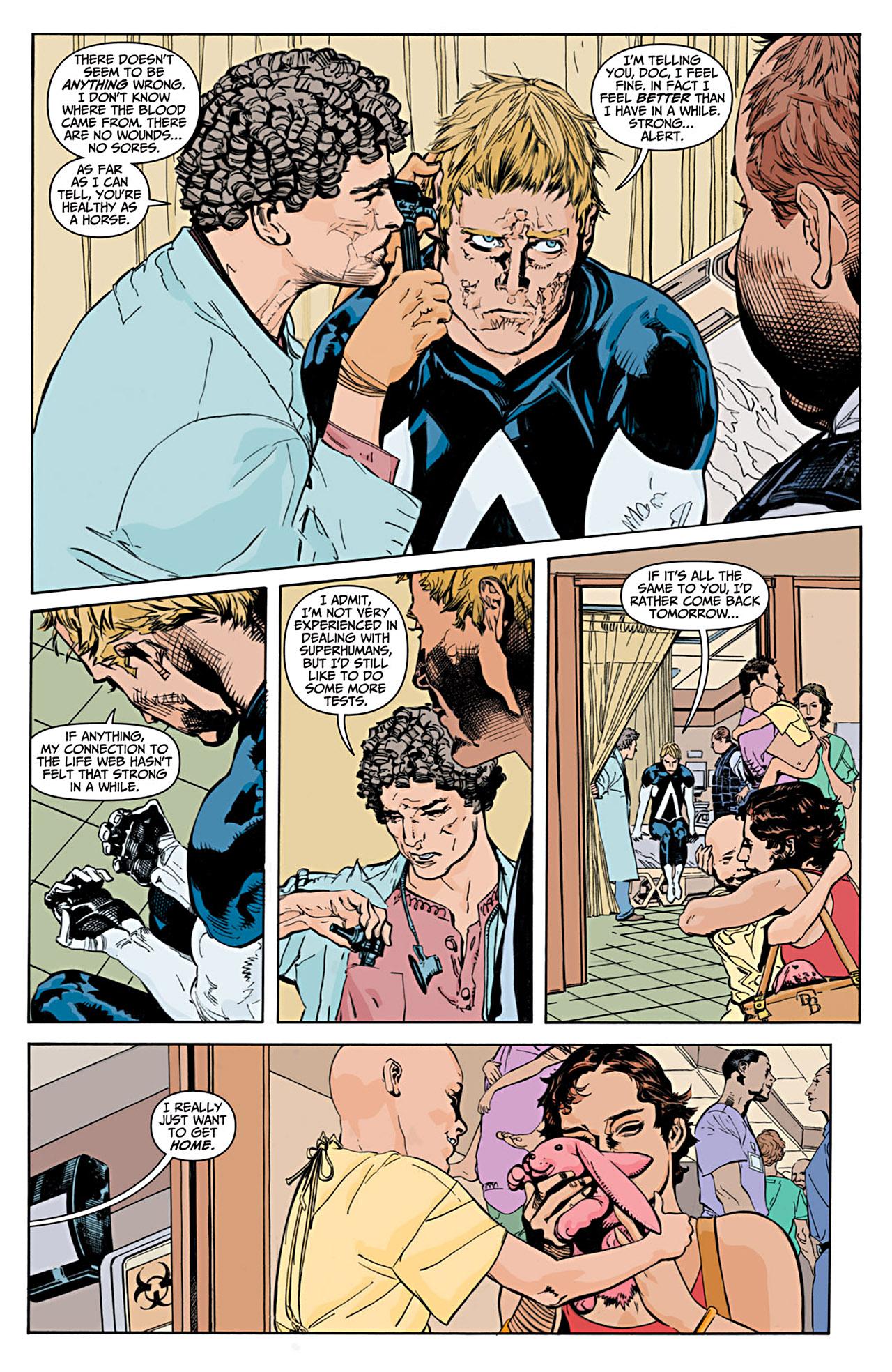 Read online Animal Man (2011) comic -  Issue #1 - 14