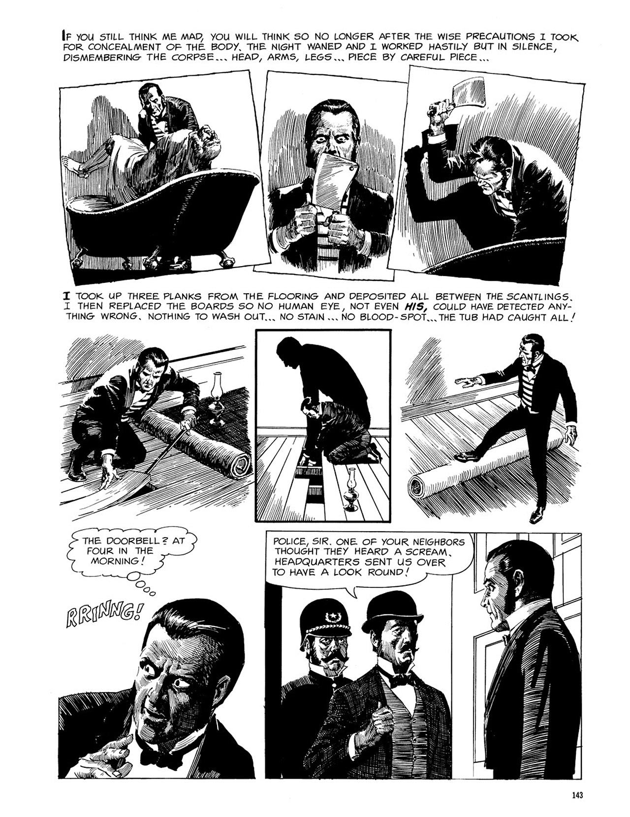Read online Eerie Archives comic -  Issue # TPB 3 - 144