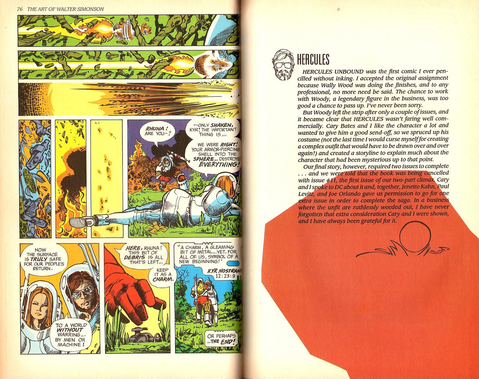 Read online The Art of Walter Simonson comic -  Issue # TPB - 40