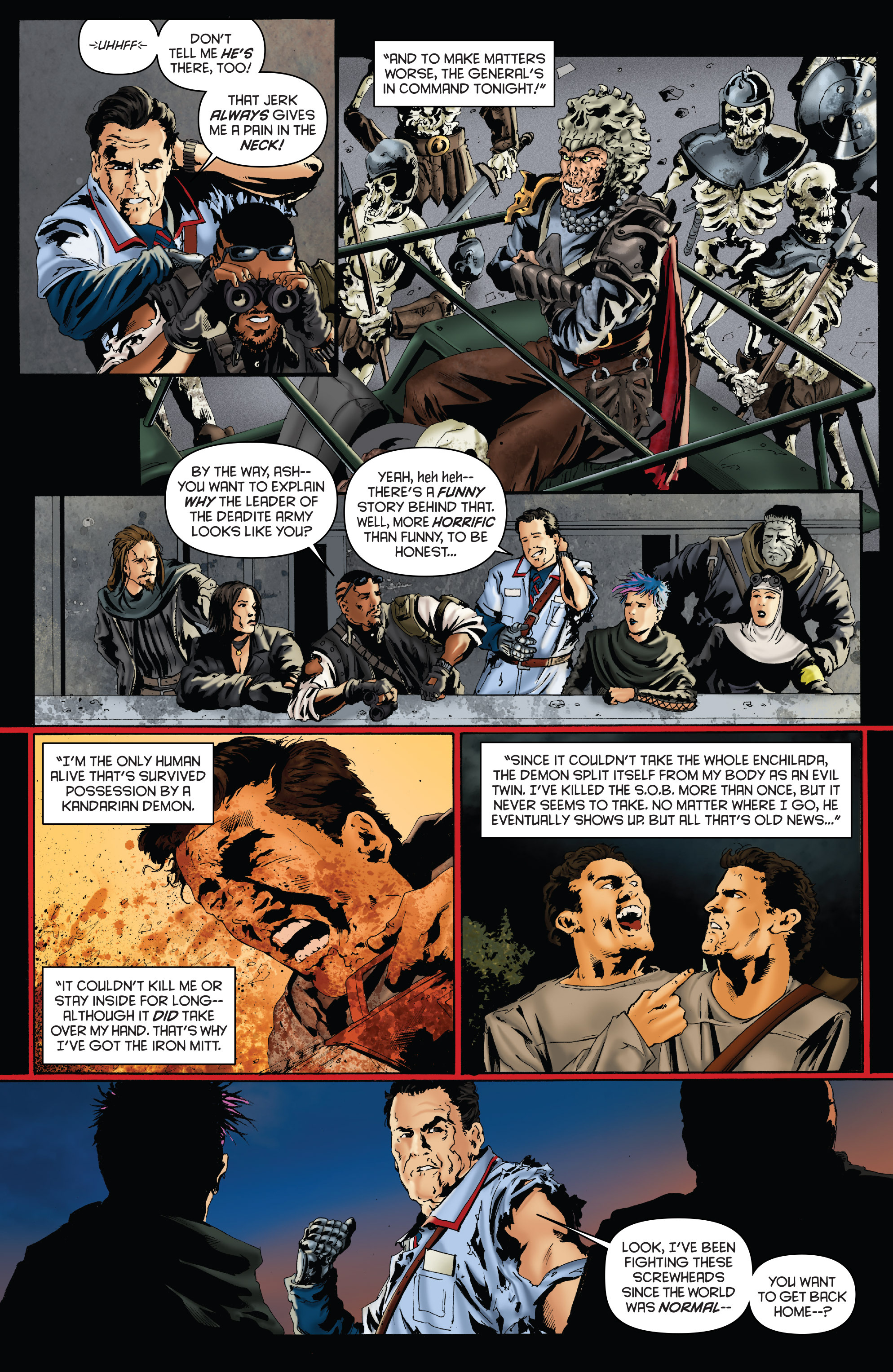 Read online Army of Darkness: Furious Road comic -  Issue #2 - 11