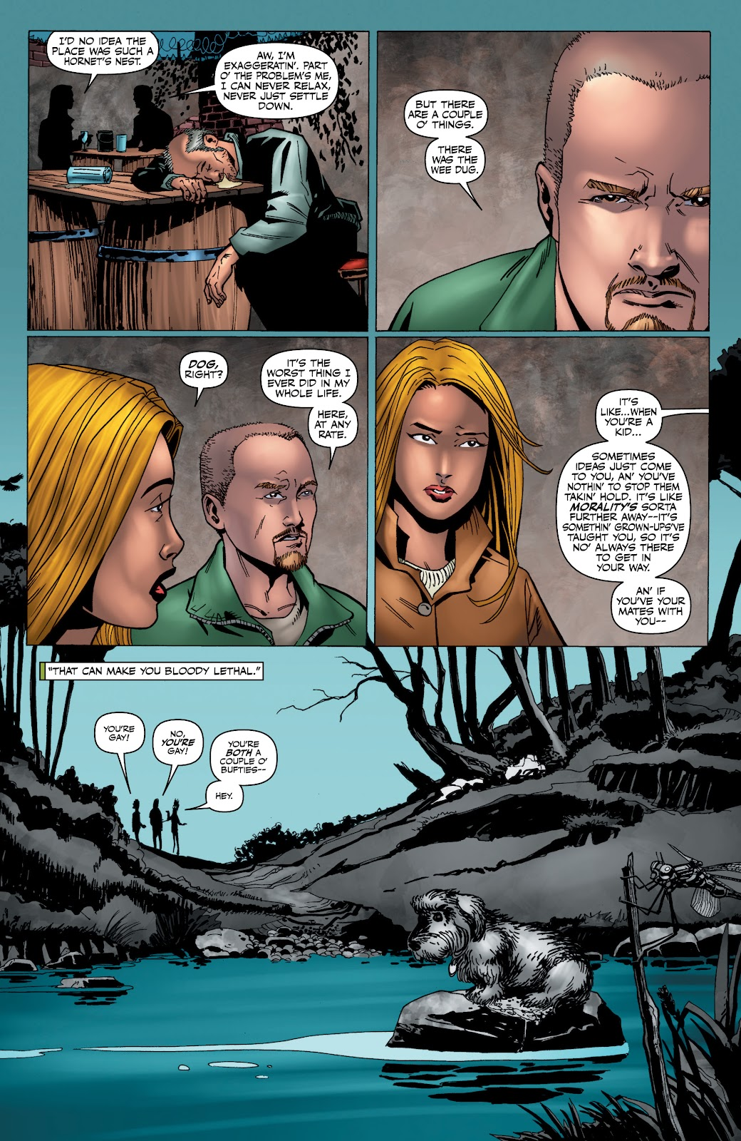 Read online The Boys Omnibus comic -  Issue # TPB 4 (Part 4) - 41