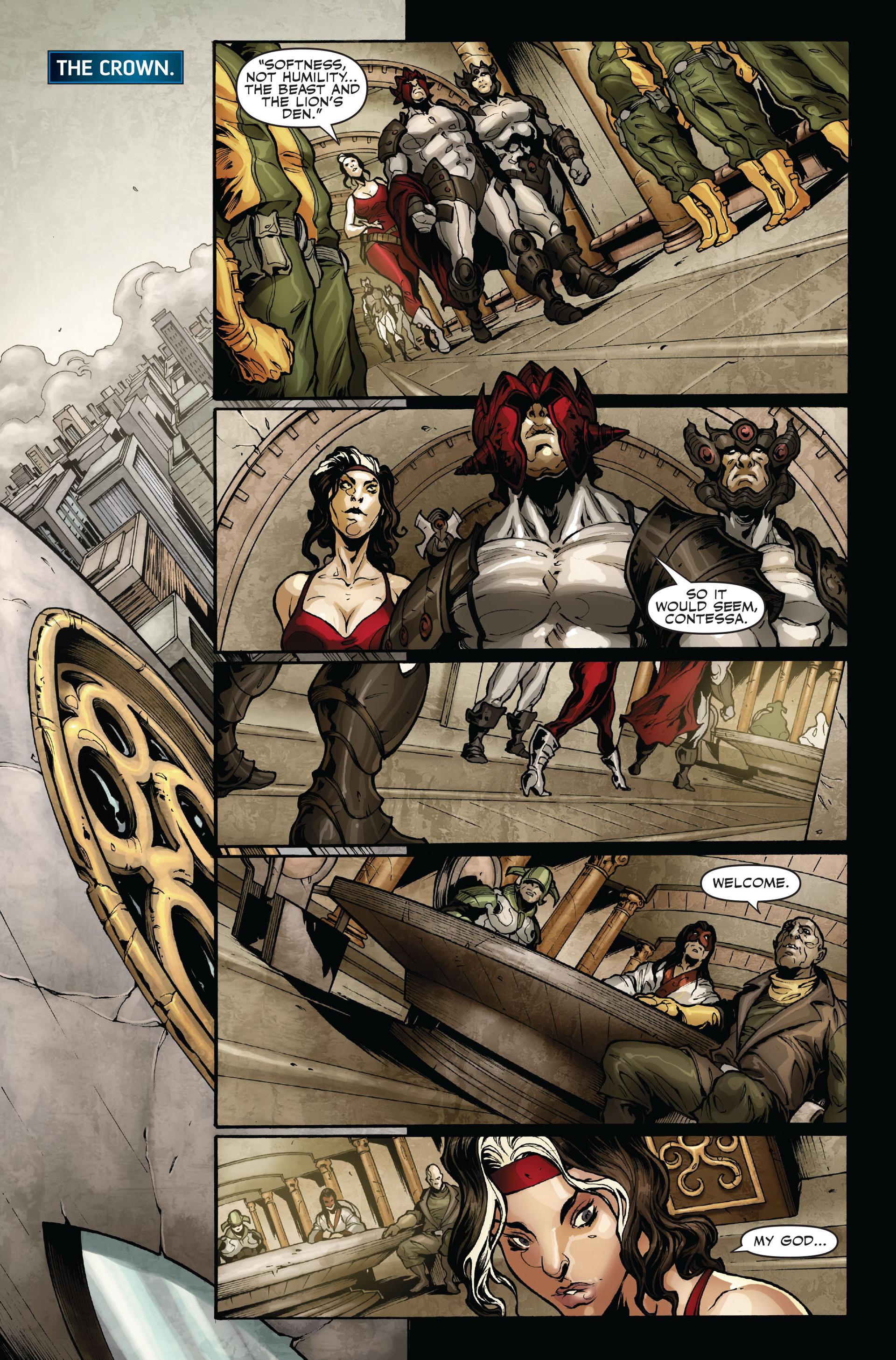 Read online Secret Warriors comic -  Issue #16 - 10