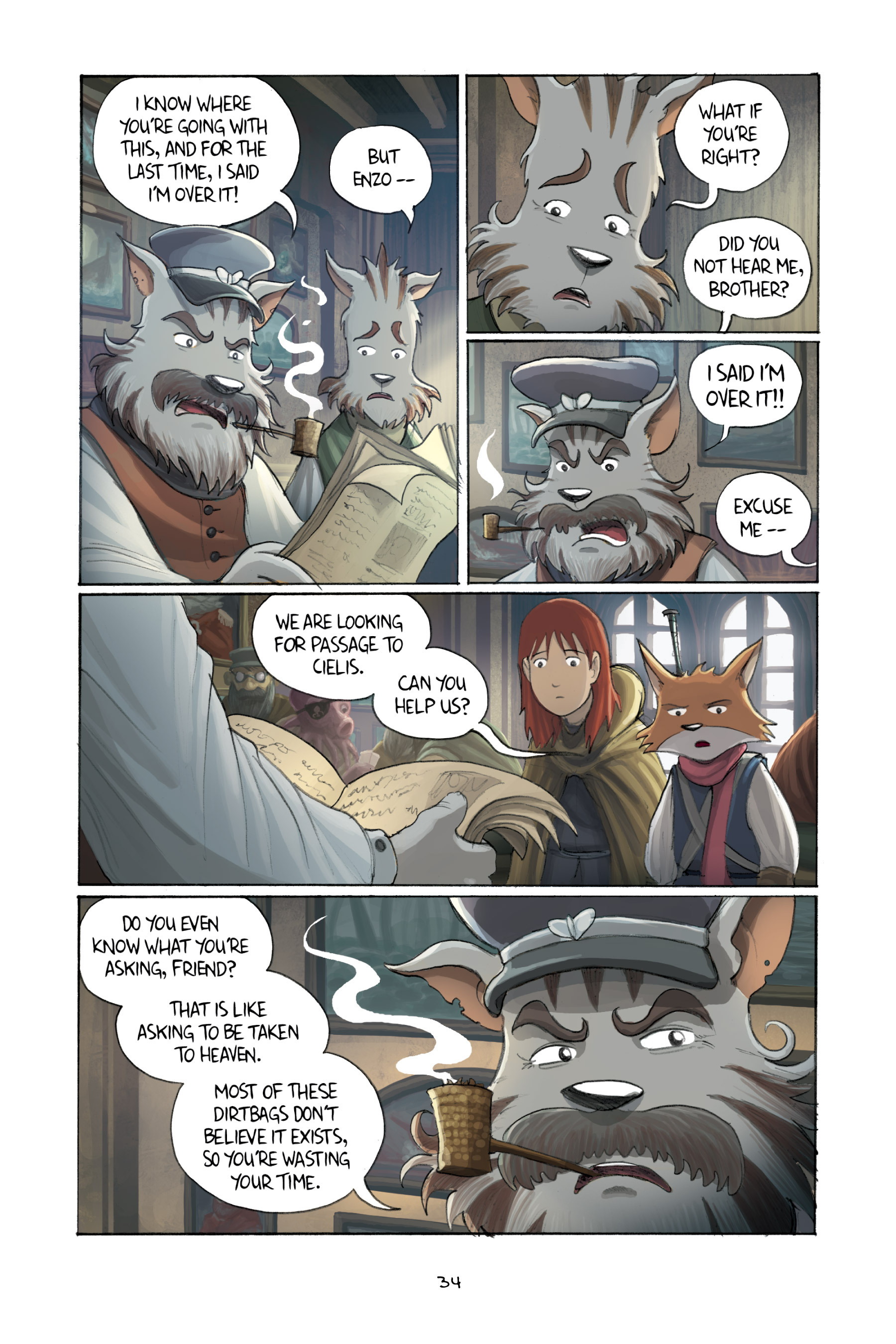 Read online Amulet comic -  Issue #3 - 33
