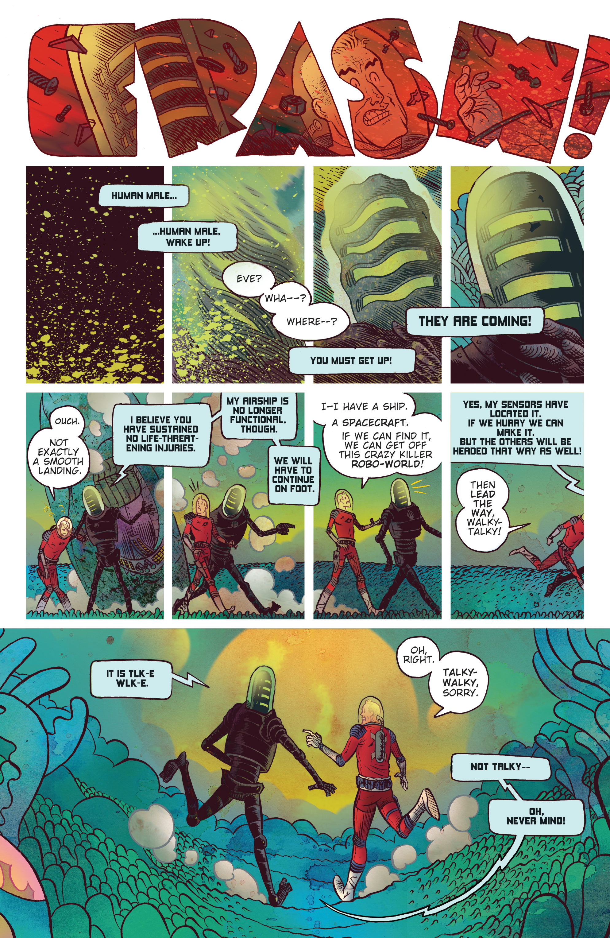 Read online Black Hammer comic -  Issue #9 - 14