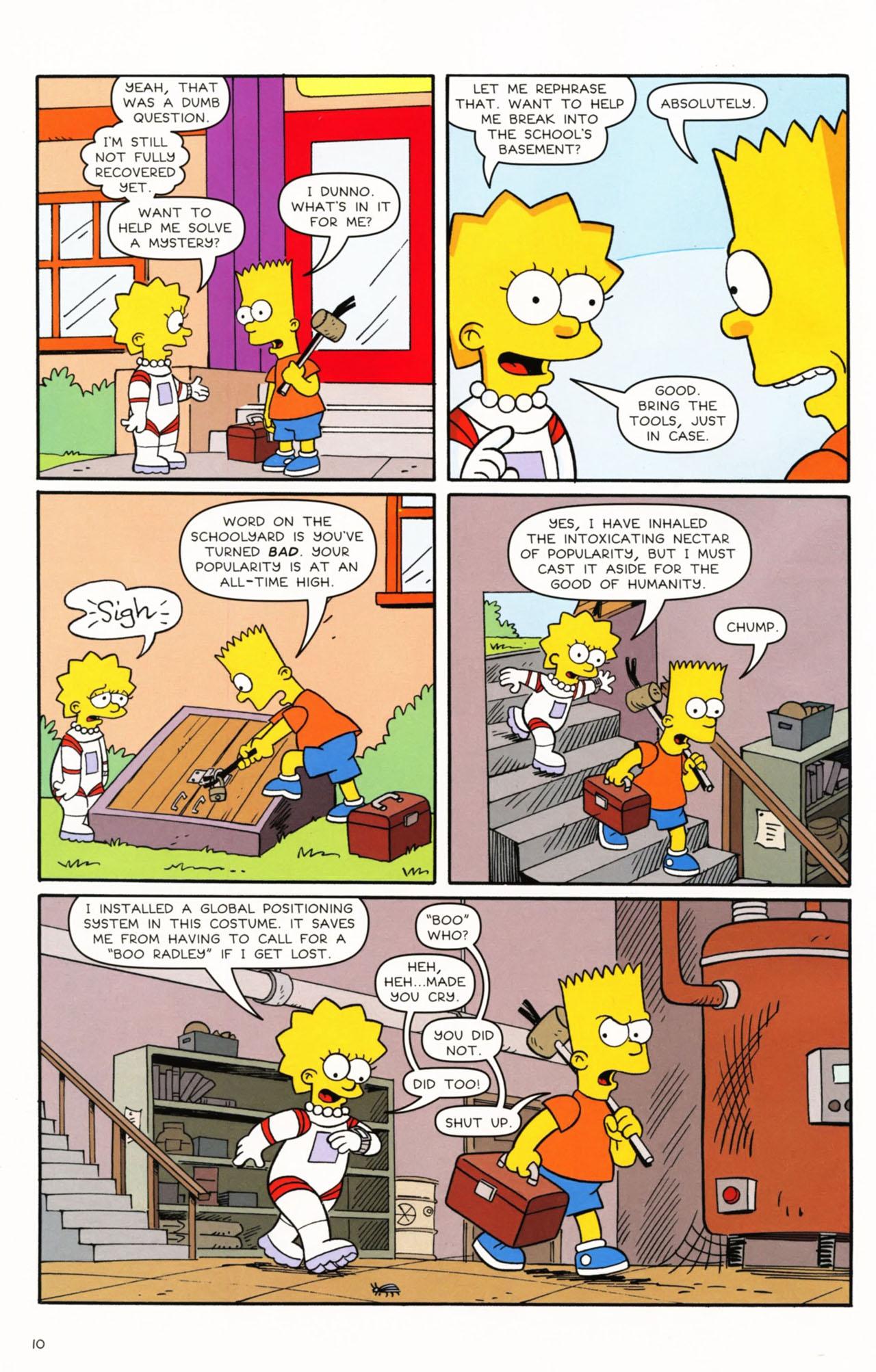 Read online Simpsons Comics Presents Bart Simpson comic -  Issue #53 - 12