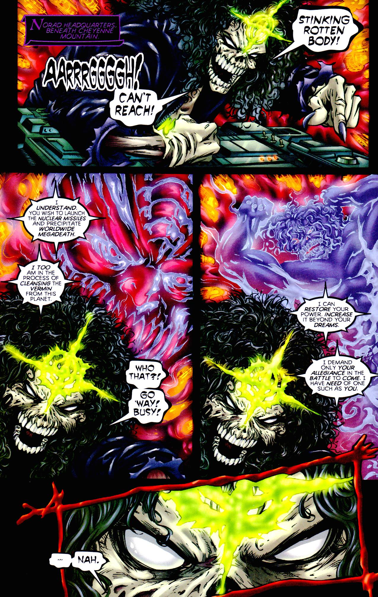 Read online Armageddon (1999) comic -  Issue #3 - 8