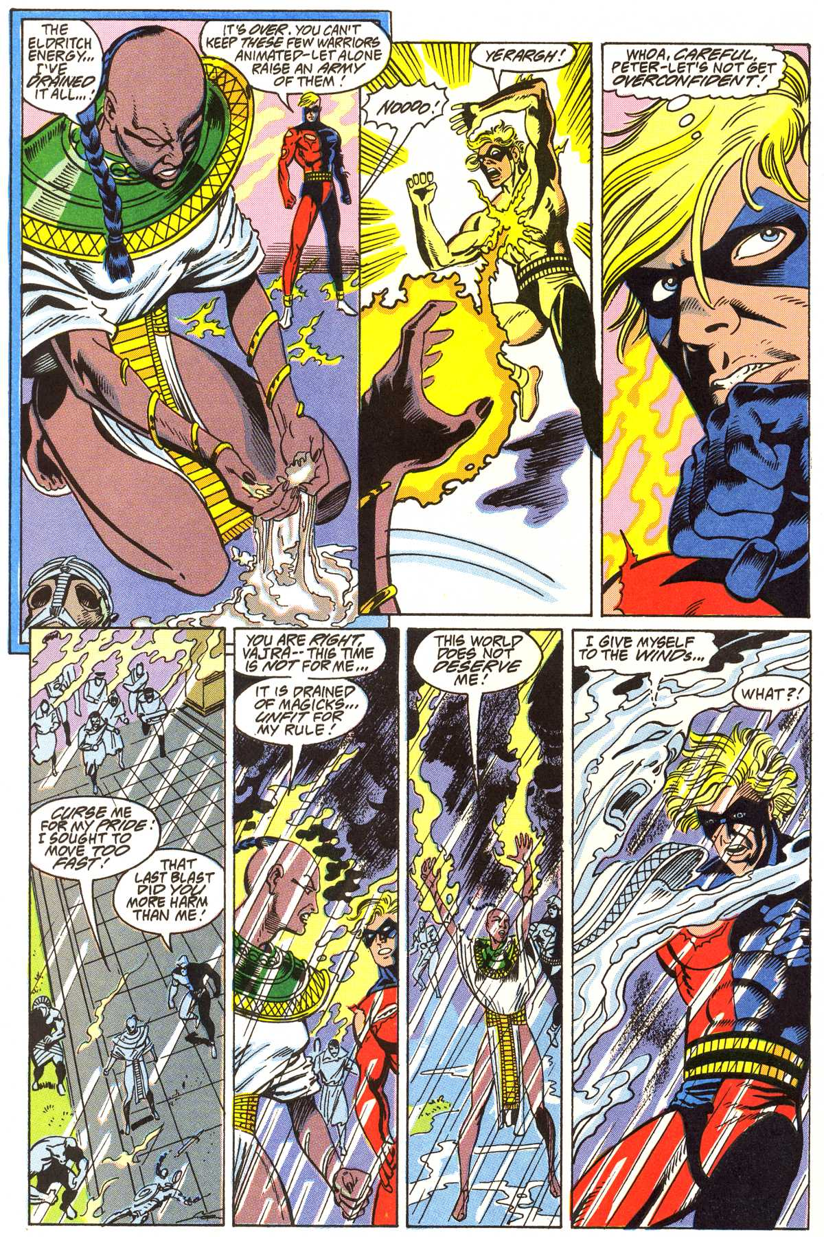 Read online Peter Cannon--Thunderbolt (1992) comic -  Issue #4 - 21