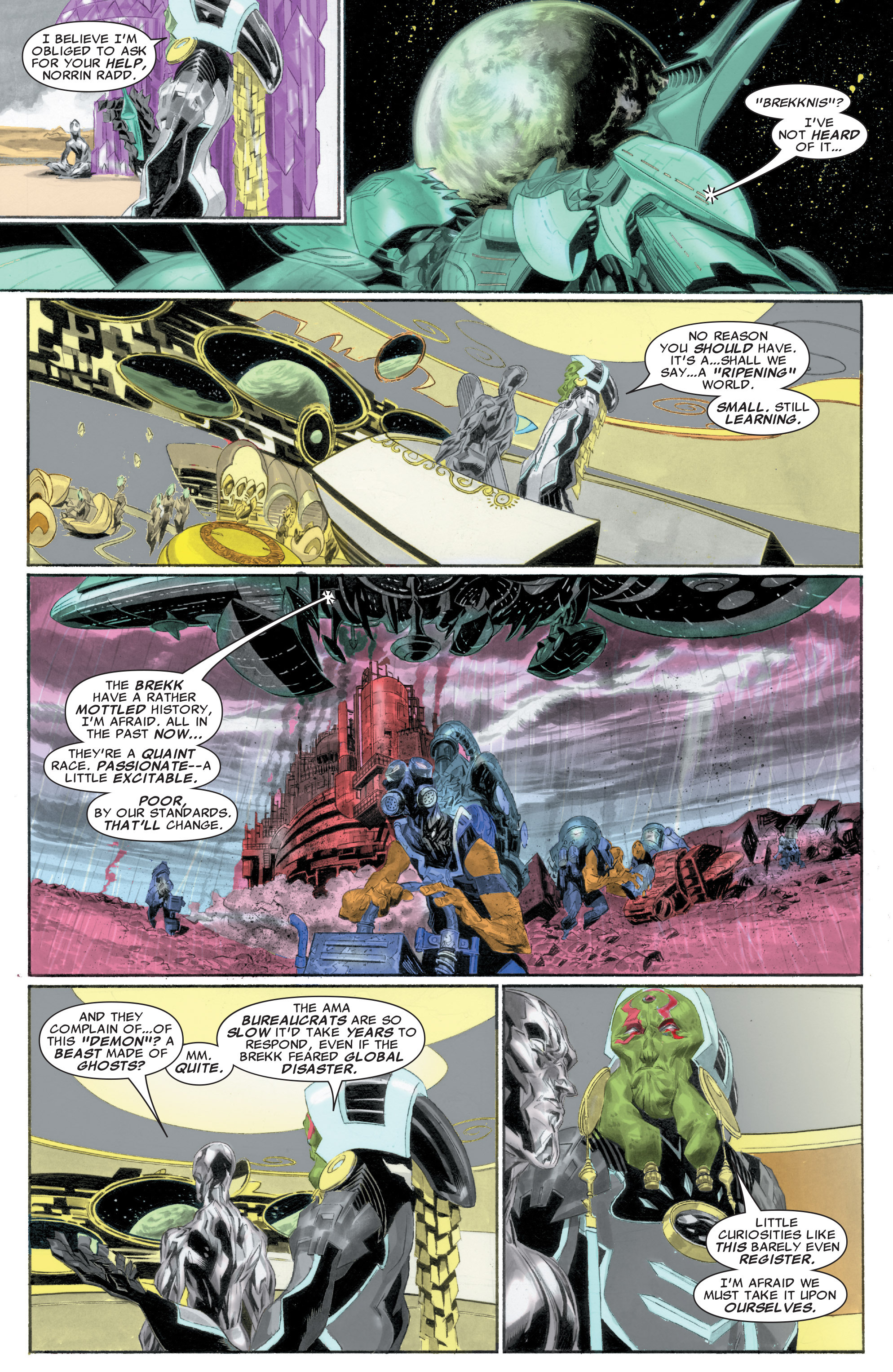 Read online Silver Surfer: In Thy Name comic -  Issue #1 - 17