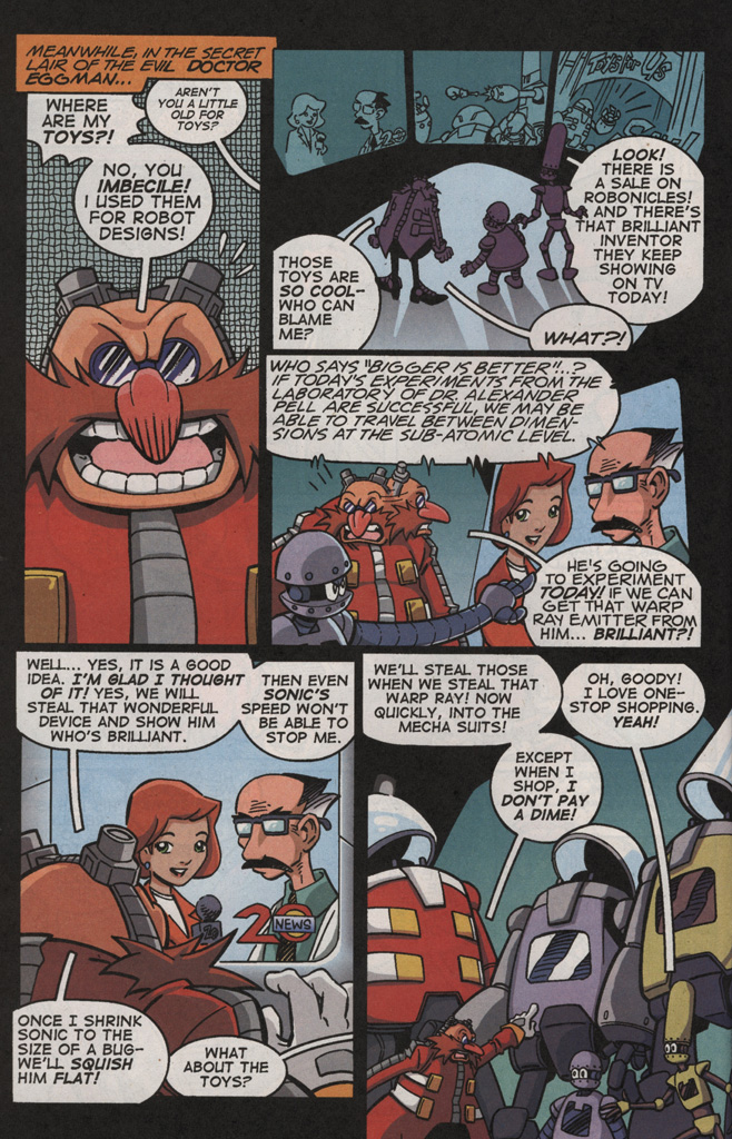 Read online Sonic X comic -  Issue #21 - 6