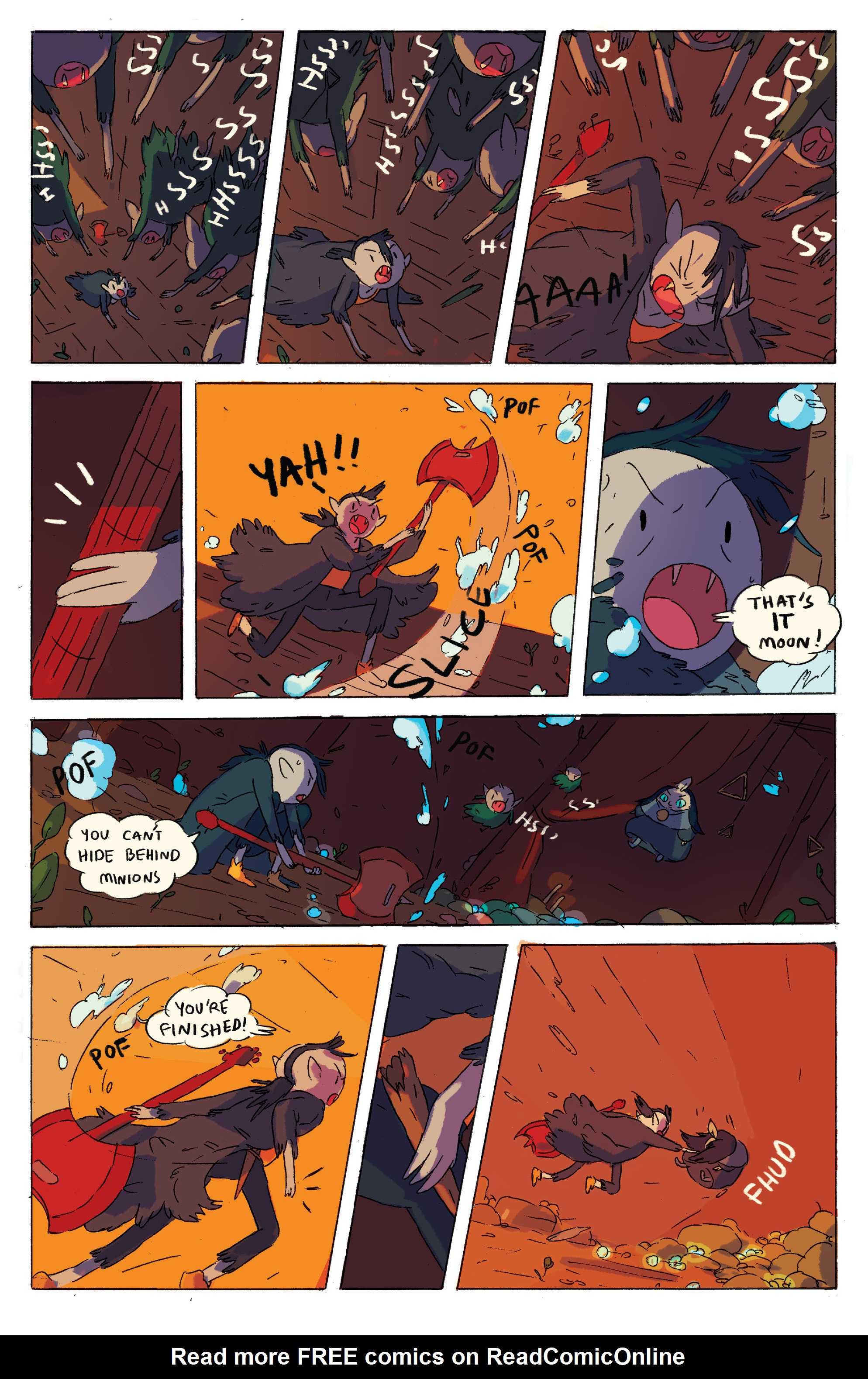 Read online Adventure Time comic -  Issue # _2015 Spoooktacular - 27