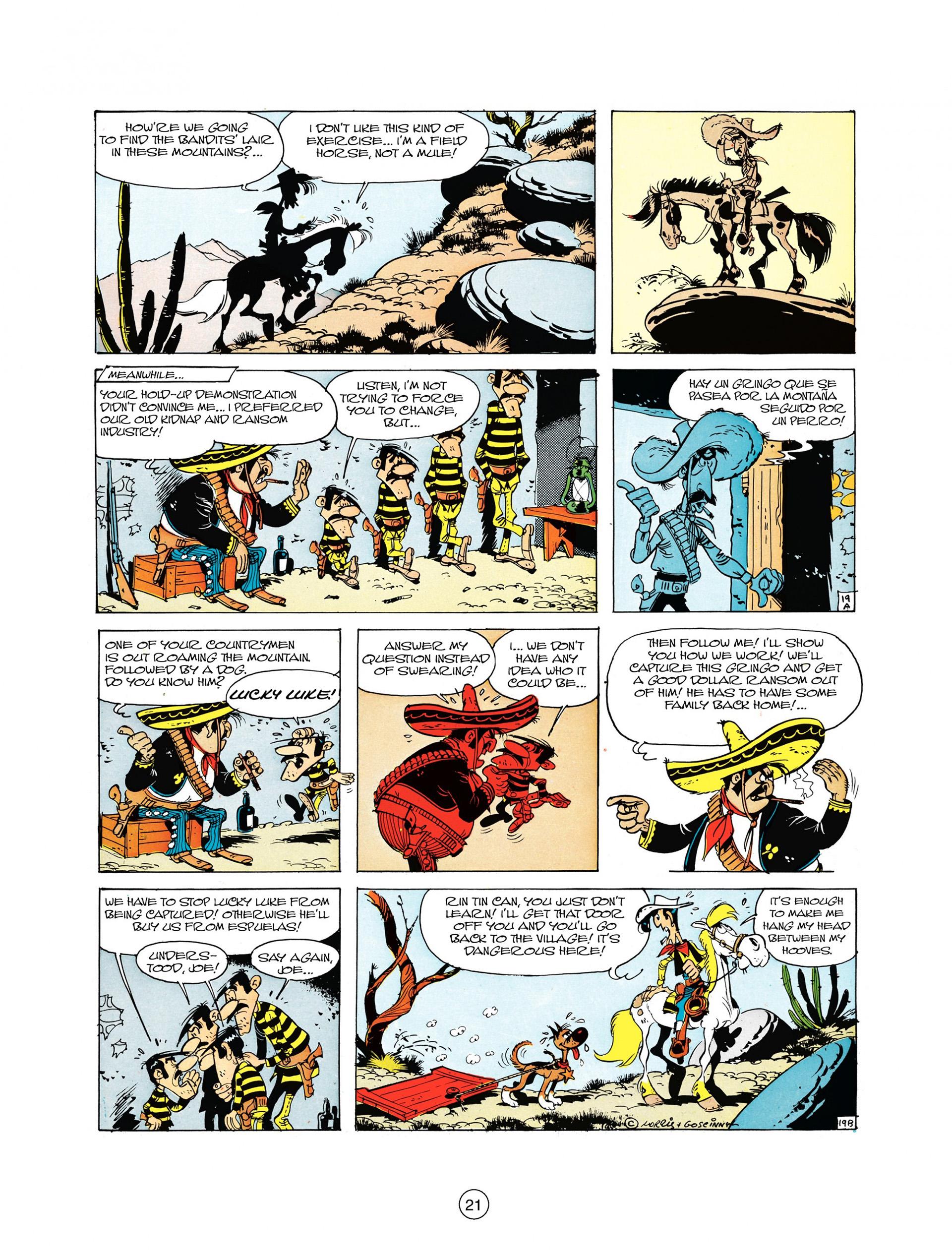 Read online A Lucky Luke Adventure comic -  Issue #10 - 21