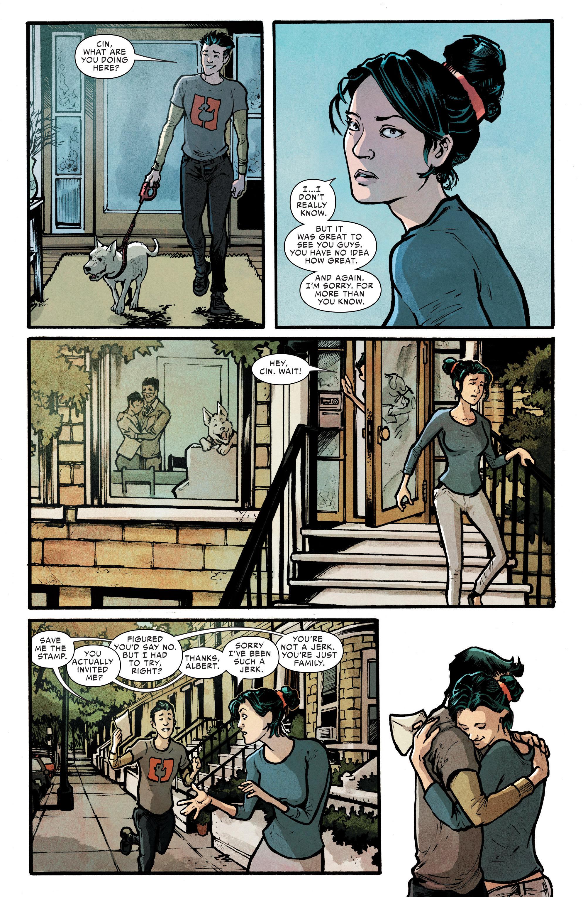 Read online Silk (2016) comic -  Issue #7 - 12