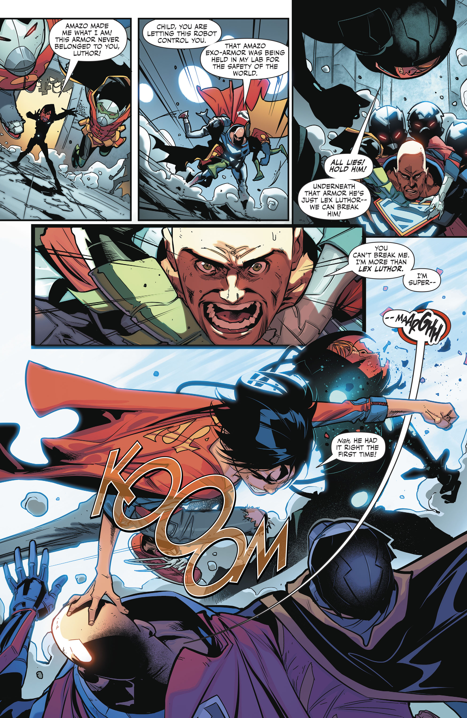 Read online Super Sons comic -  Issue #4 - 16